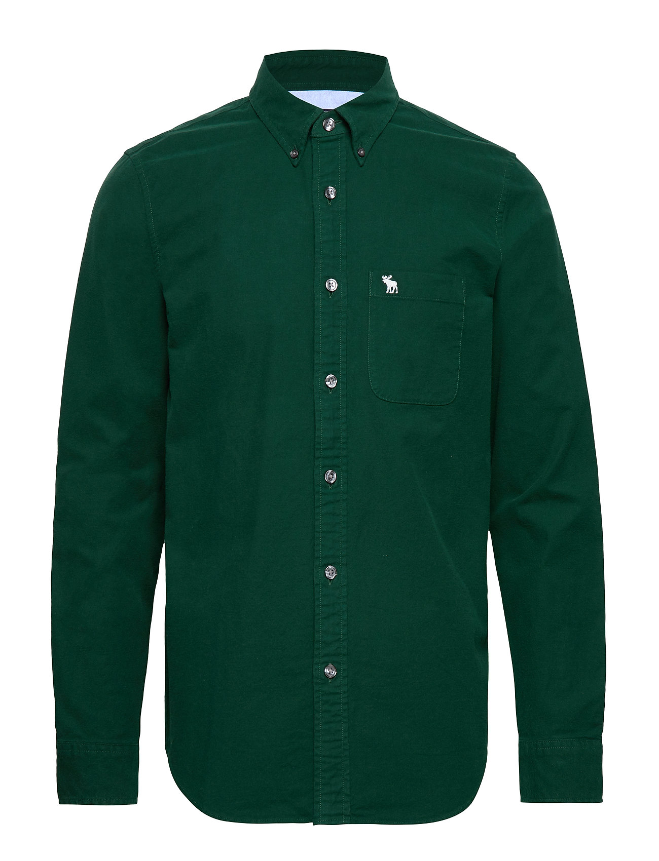 Abercrombie & Fitch Moose Oxford - GREEN DD