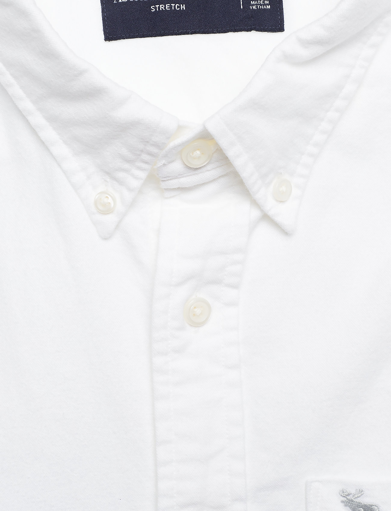 Abercrombie & Fitch Core Oxford - Skjorter WHITE - Menn Klær
