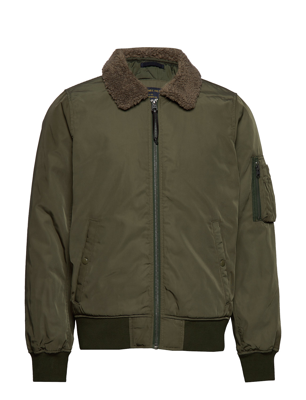 Abercrombie & Fitch Bomber - OLIVE DD