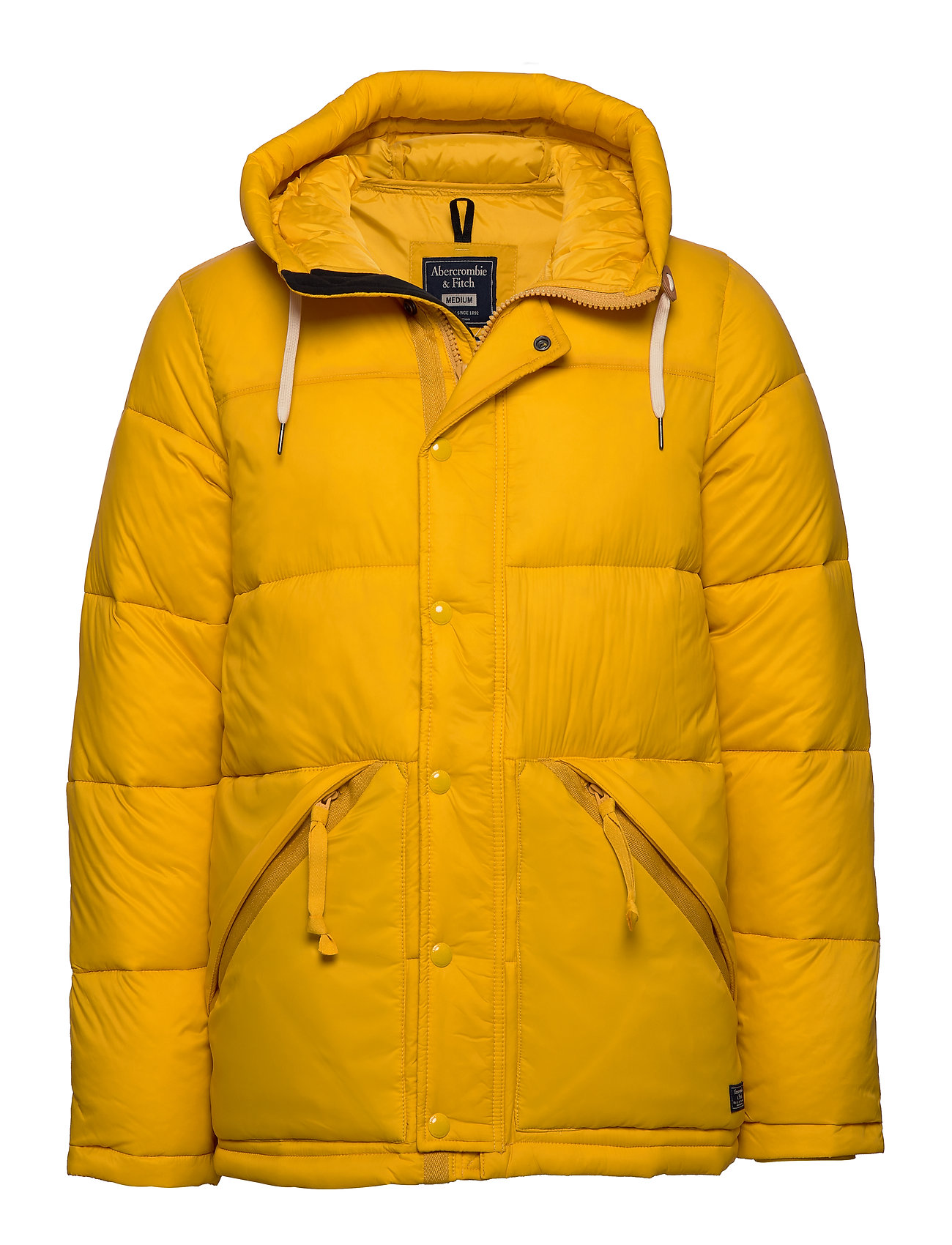 Abercrombie & Fitch Ultra Puffer - YELLOW DD