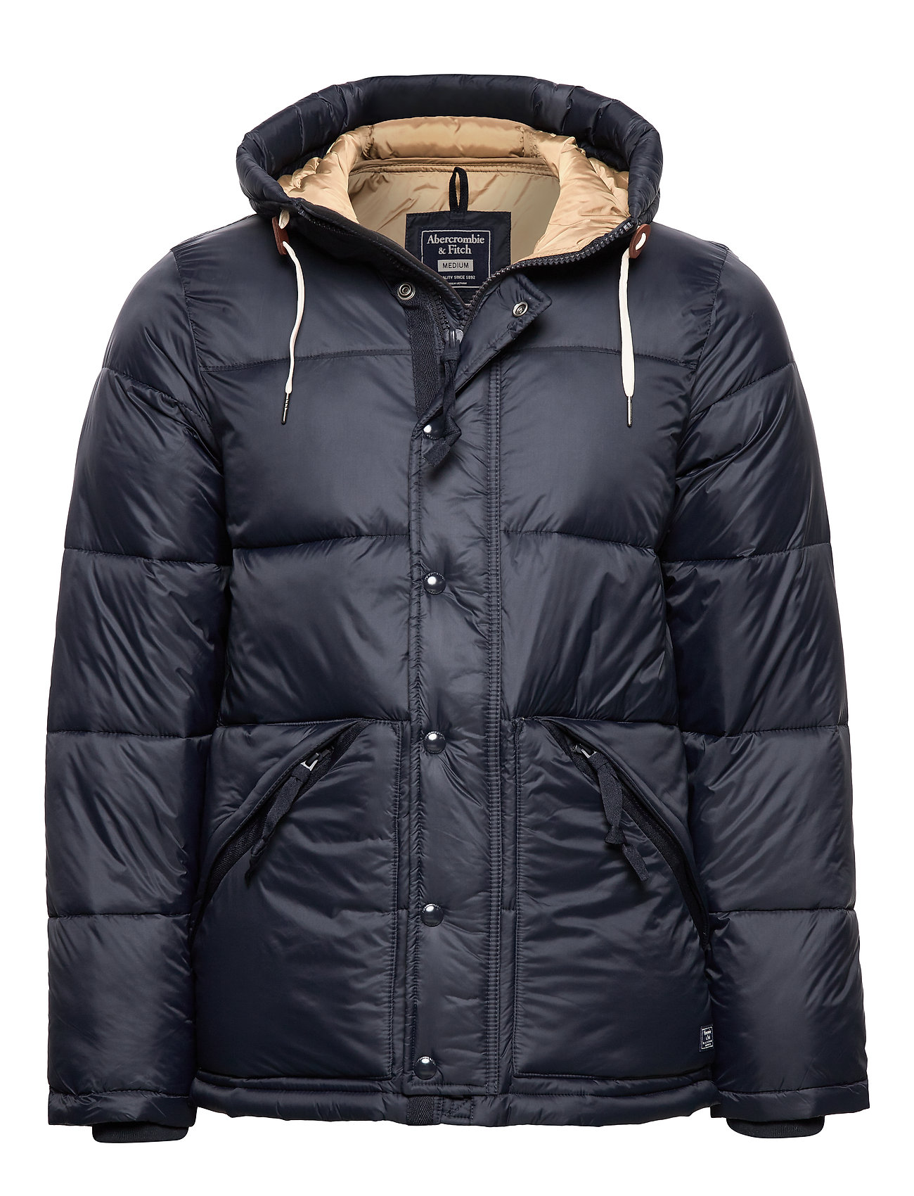 Abercrombie & Fitch Ultra Puffer - NAVY DD