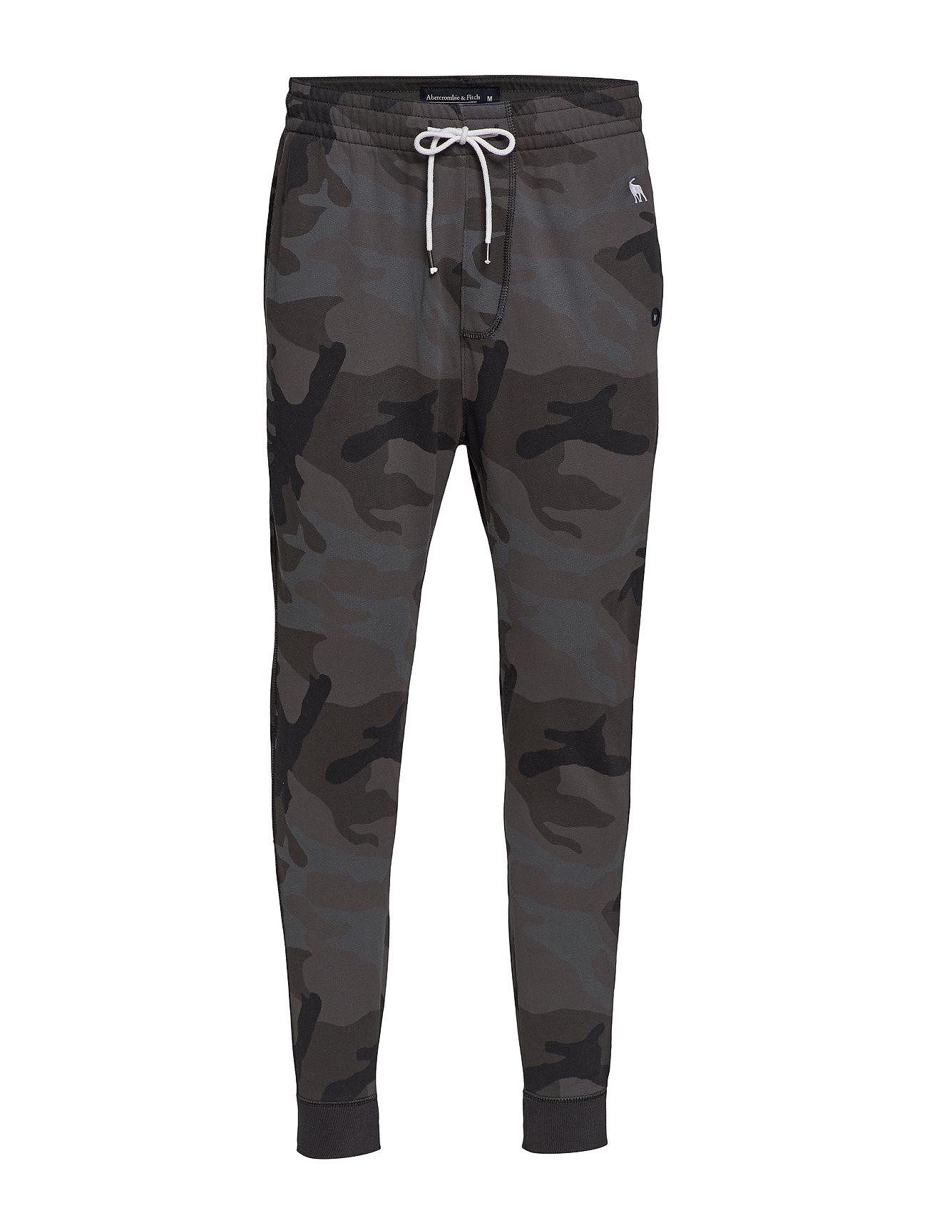Abercrombie & Fitch Jogger - BLACK PRINT