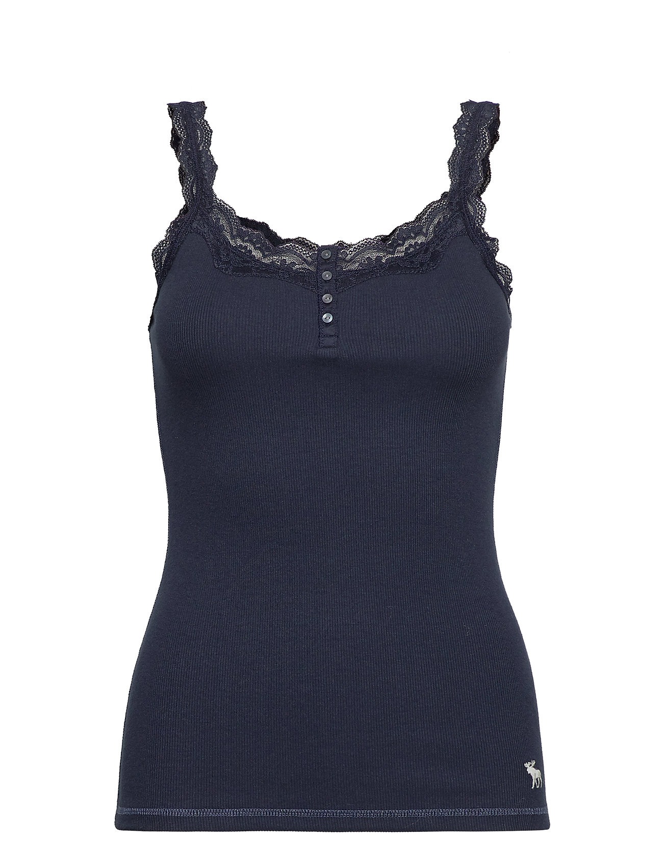 Abercrombie & Fitch Icon Lace Cami - NAVY DD
