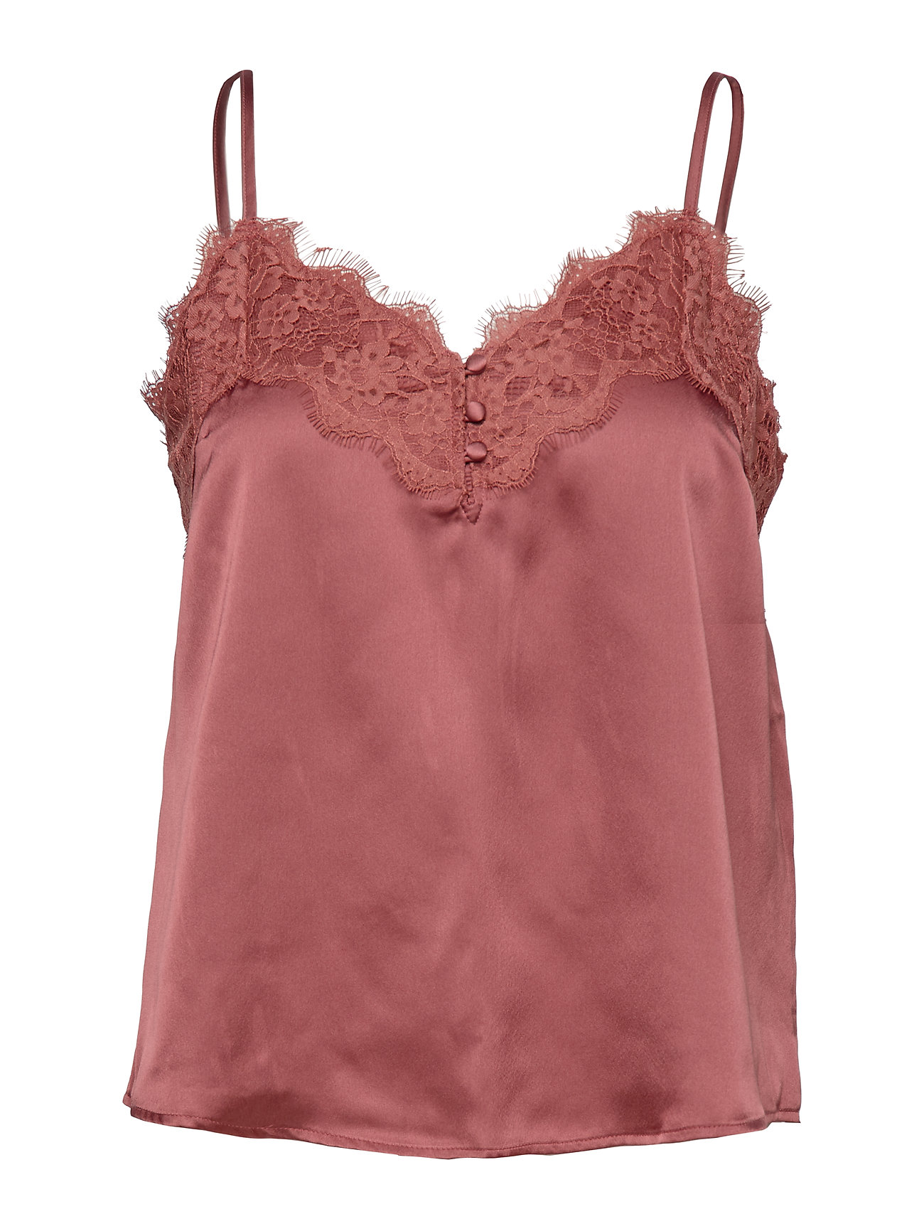 Abercrombie & Fitch Lace Cami - LIGHT BROWN DD