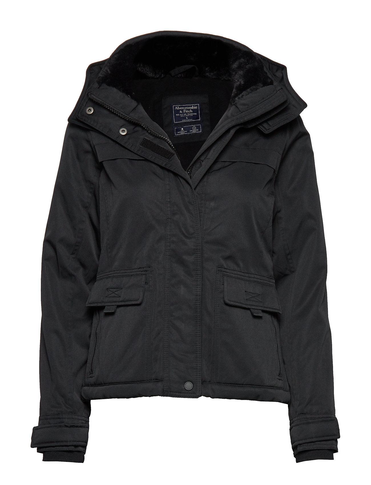 Abercrombie & Fitch Tech Jacket - BLACK DD