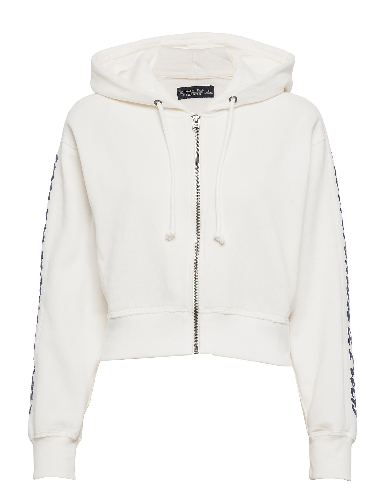 Abercrombie & Fitch Trend Logo - WHITE