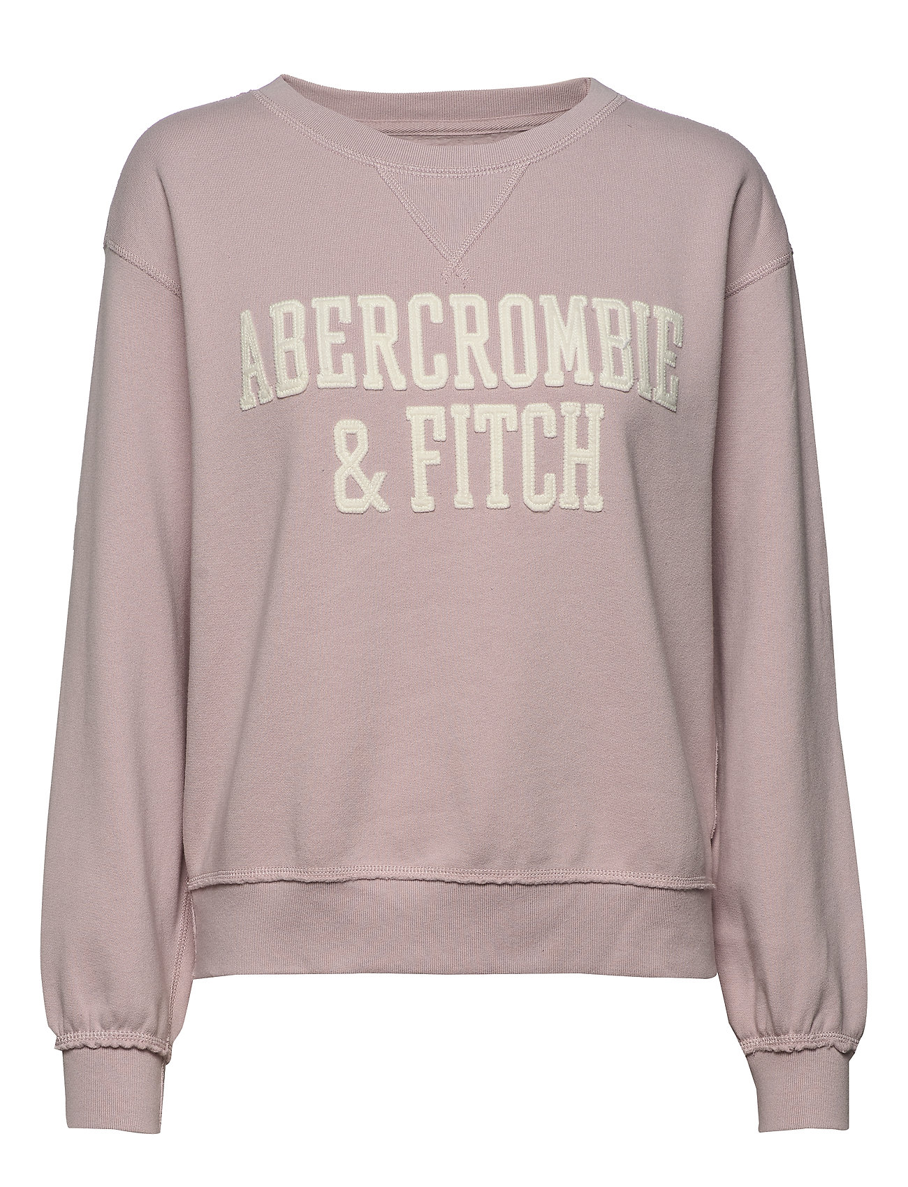 Abercrombie & Fitch Heritage Relaxed Crew - PURPLE DD