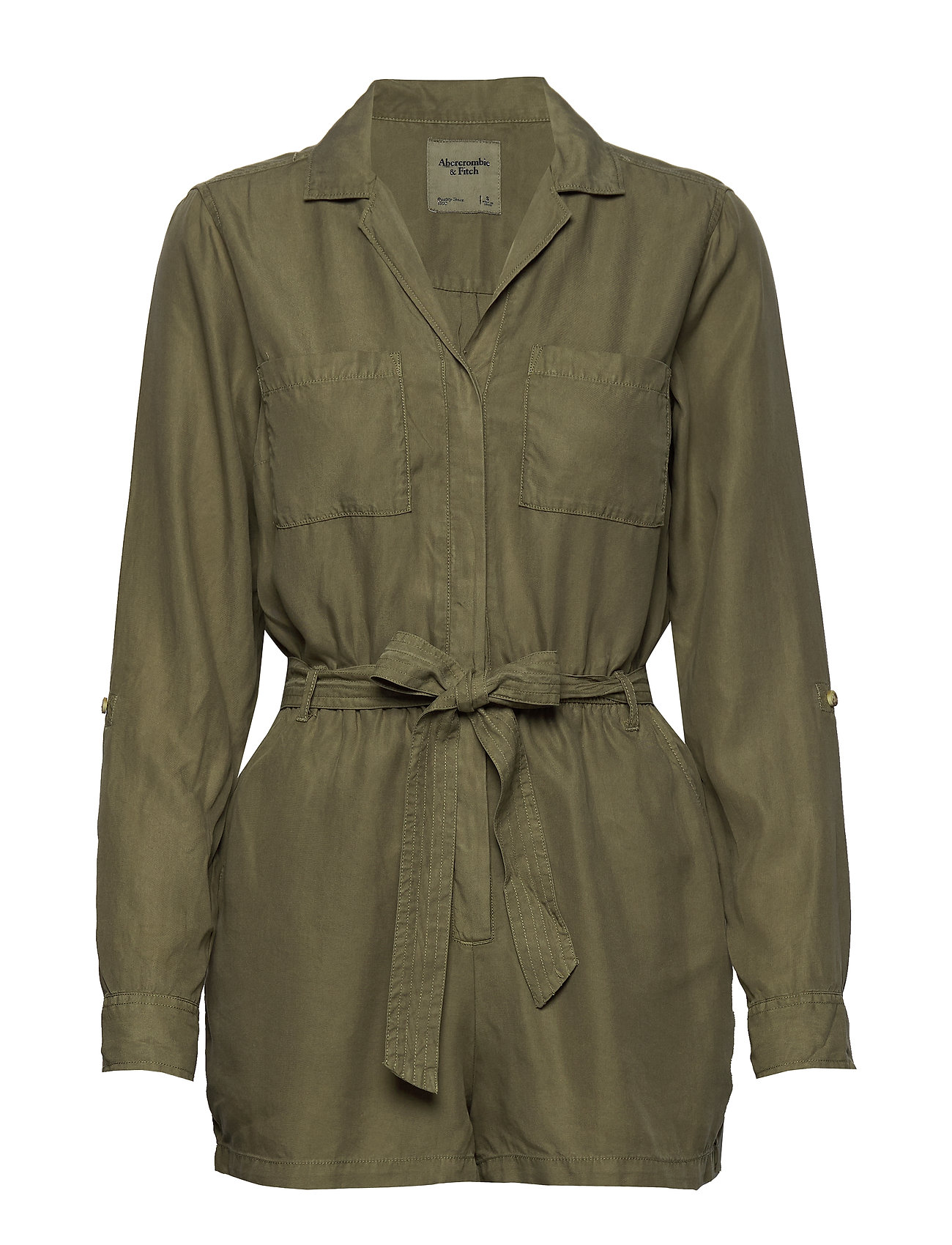 Abercrombie & Fitch Button Utility Romp - OLIVE DD