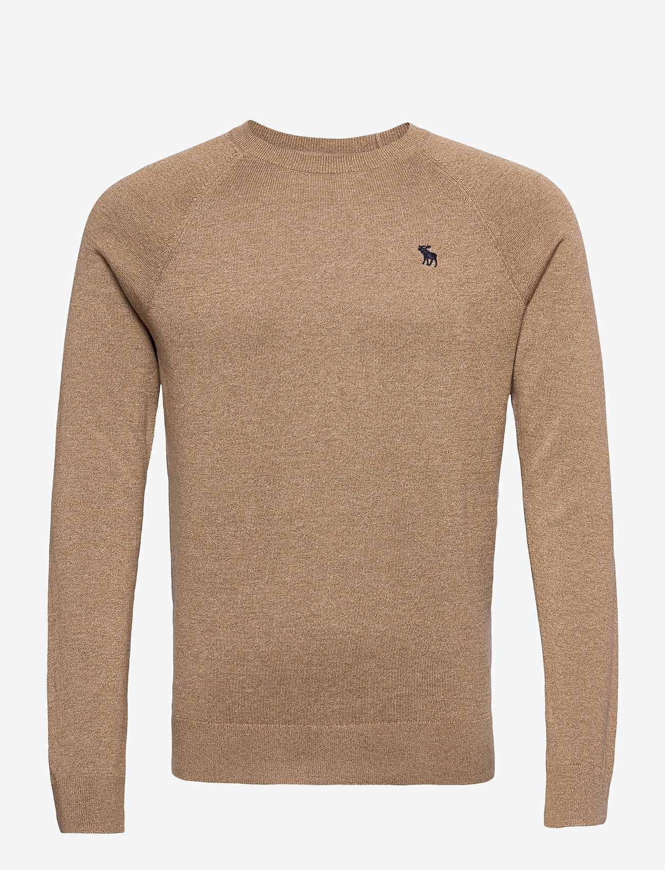 Abercrombie & Fitch - ICON CREW - tricots basiques - light brown dd - 0