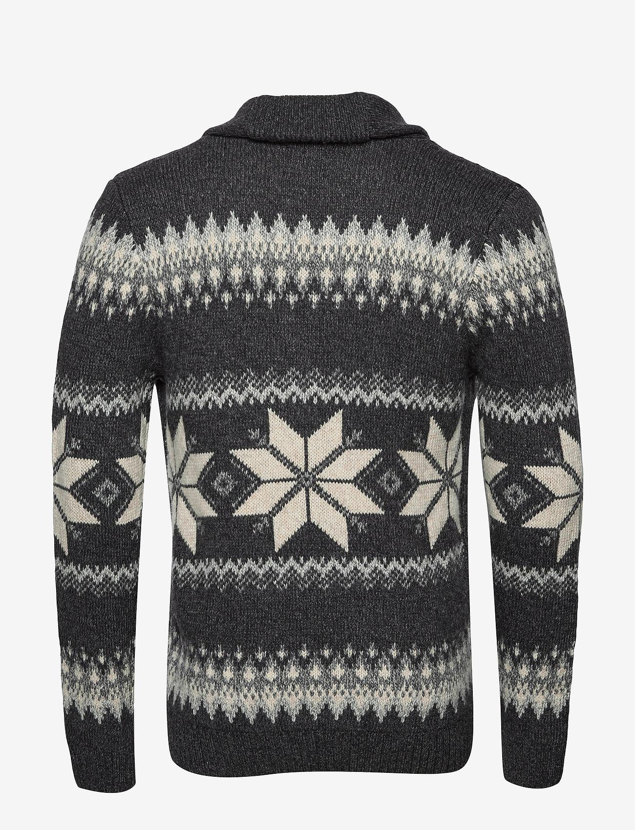 Abercrombie & Fitch Moose Shawl - Knitwear