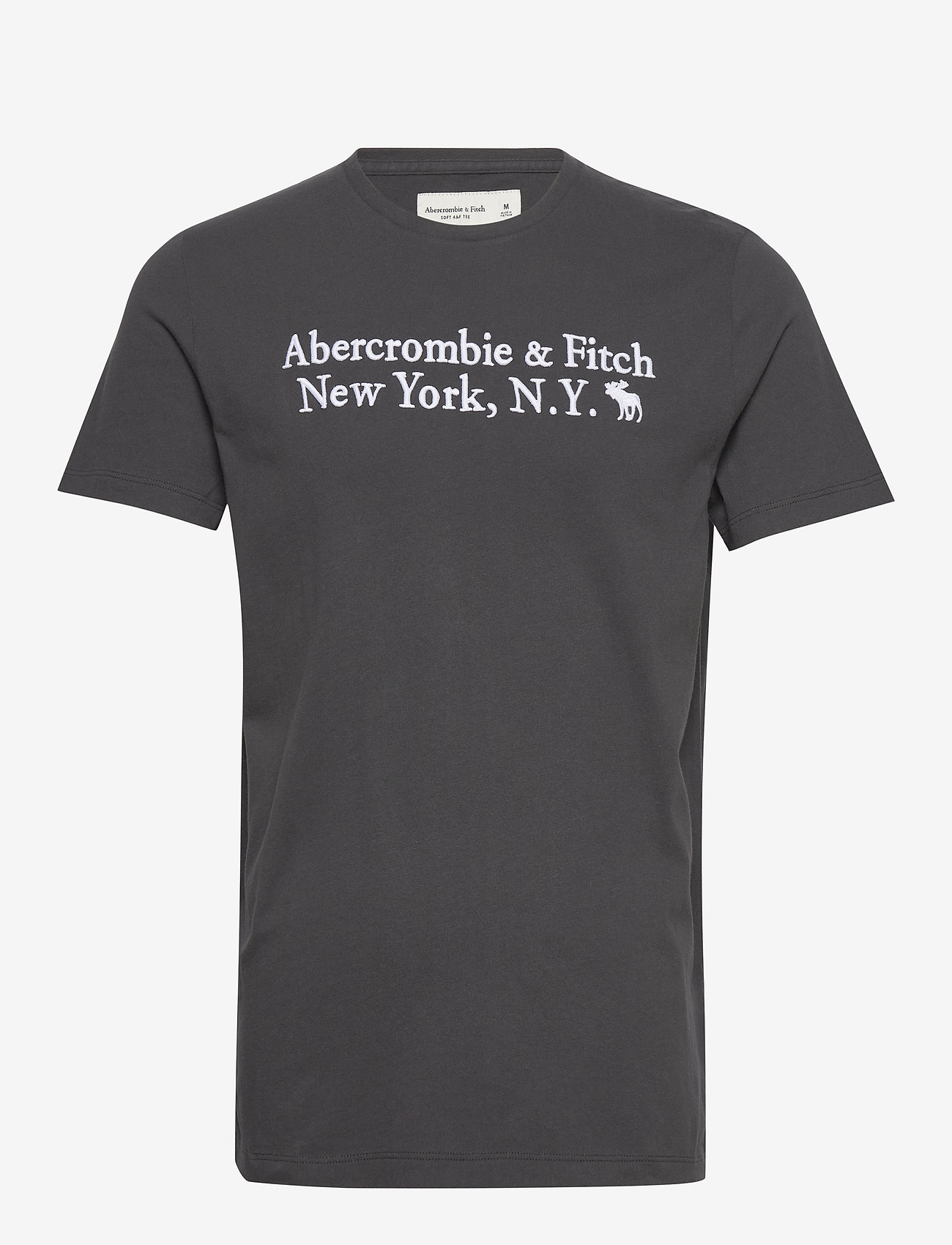 Abercrombie & Fitch Core Heritage Logo - T-shirts Black Dd