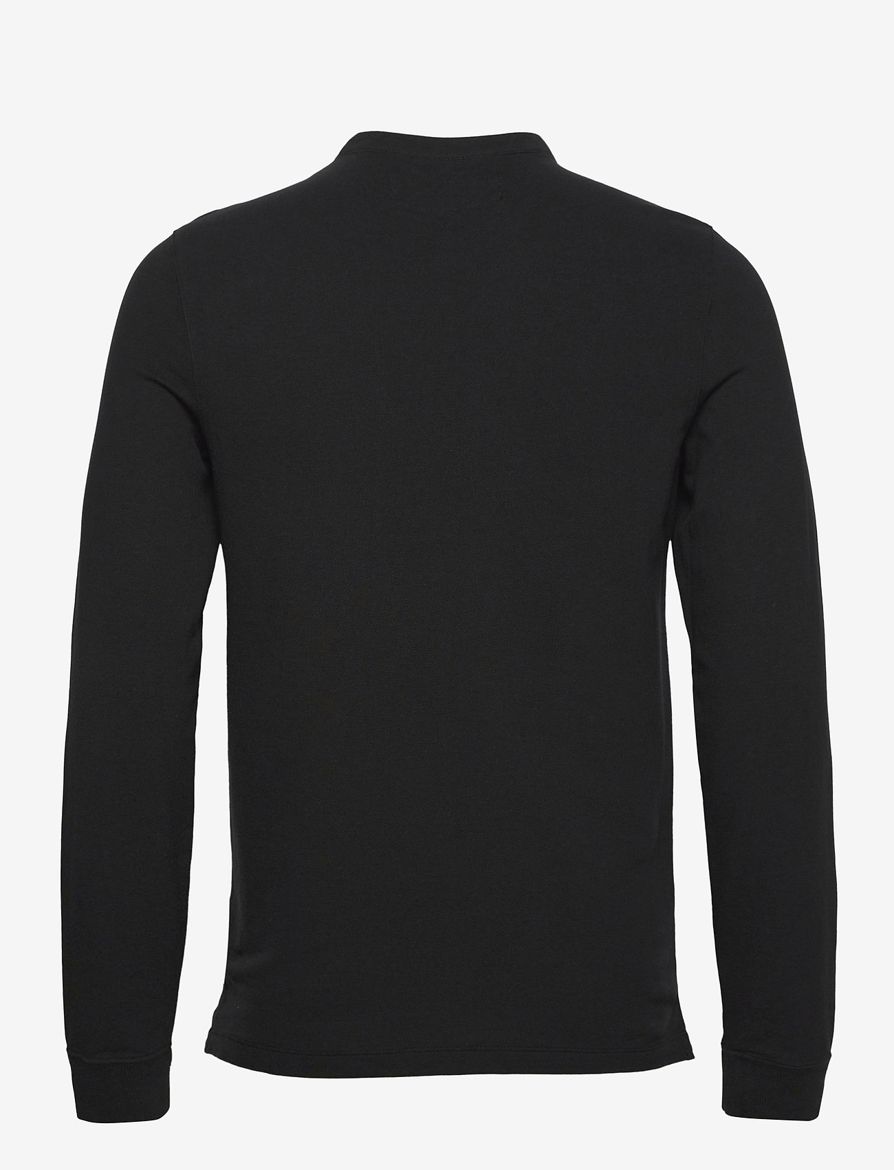 Abercrombie & Fitch - ANF MENS KNITS - half zip - black - 1