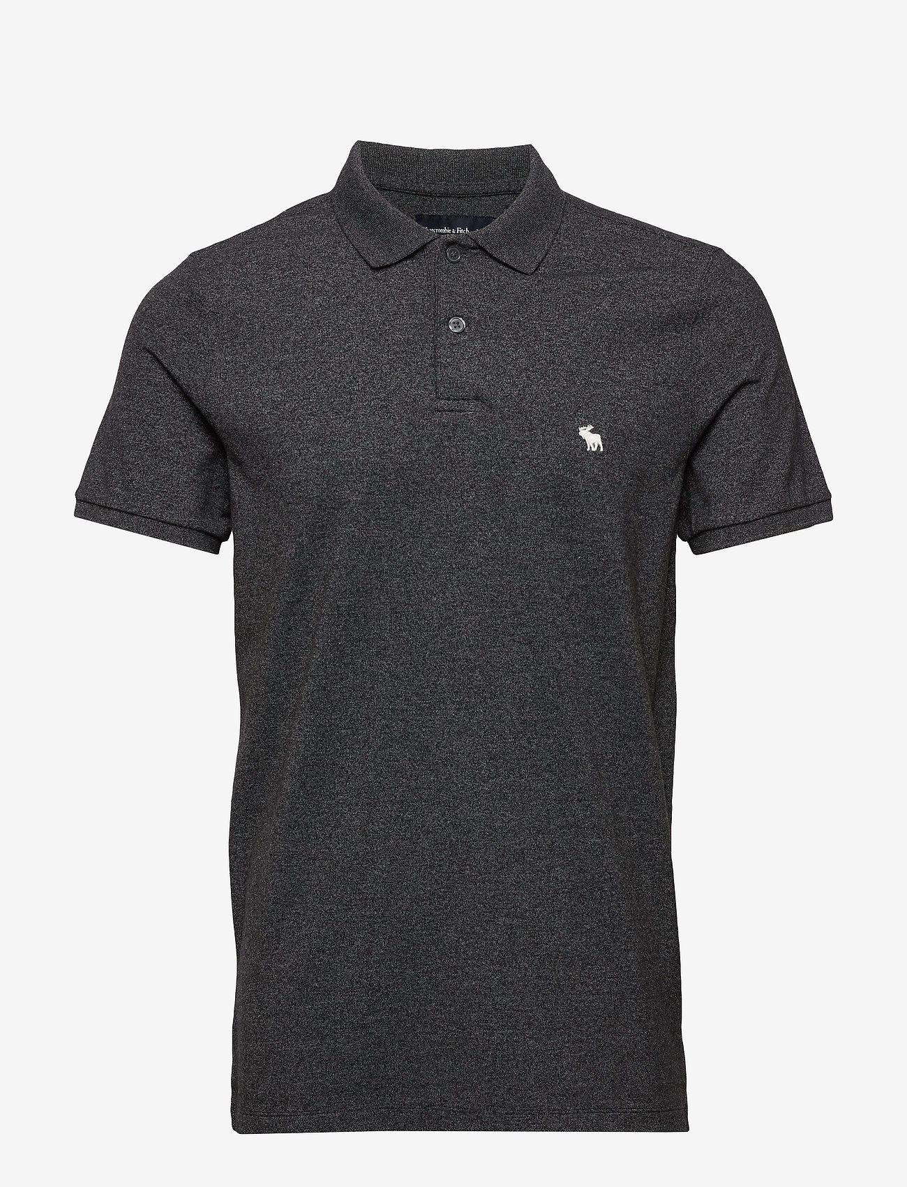 Abercrombie & Fitch - ANF MENS KNITS - polos à manches courtes - black dd - 0