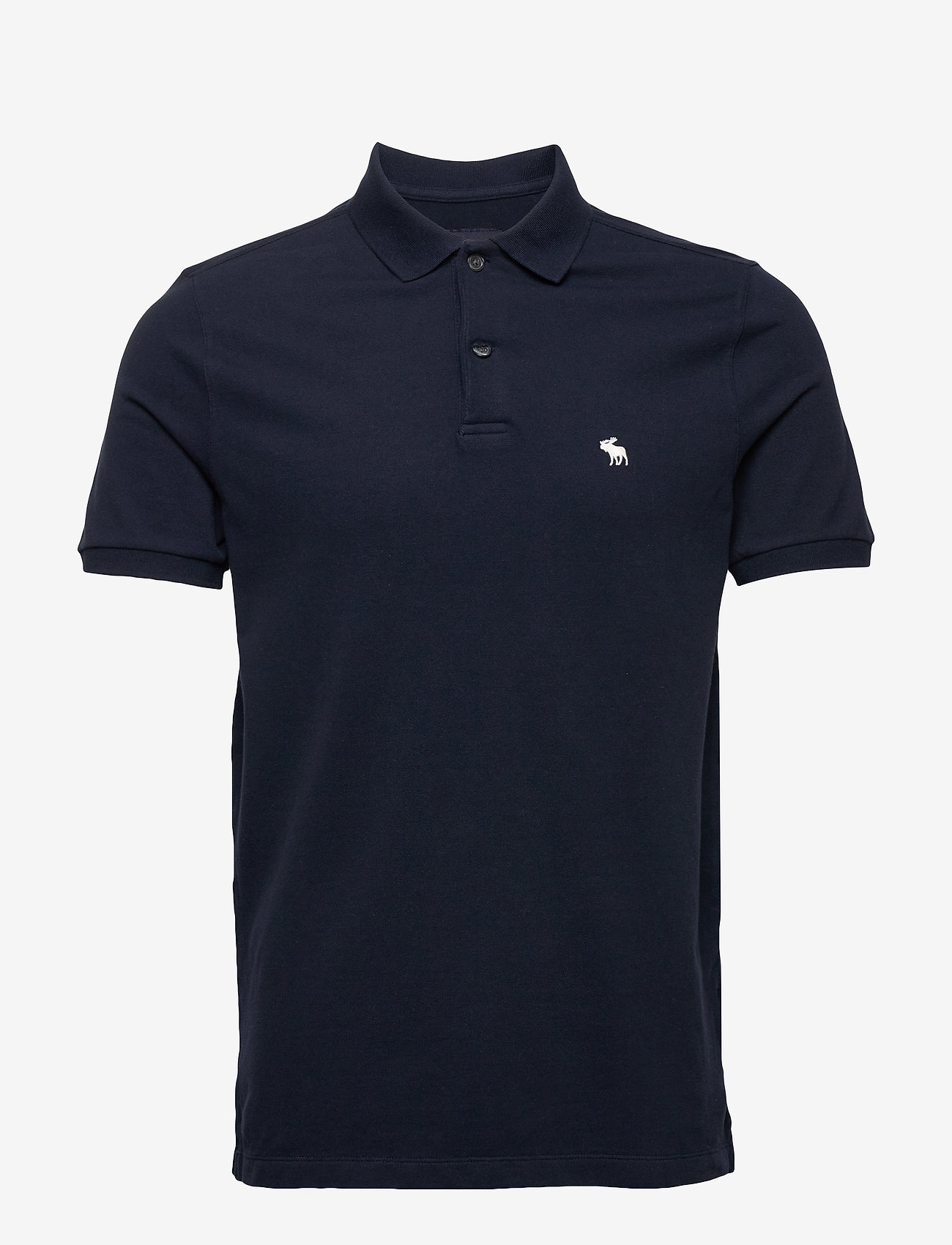 Abercrombie & Fitch - ANF MENS KNITS - polos à manches courtes - navy dd - 0