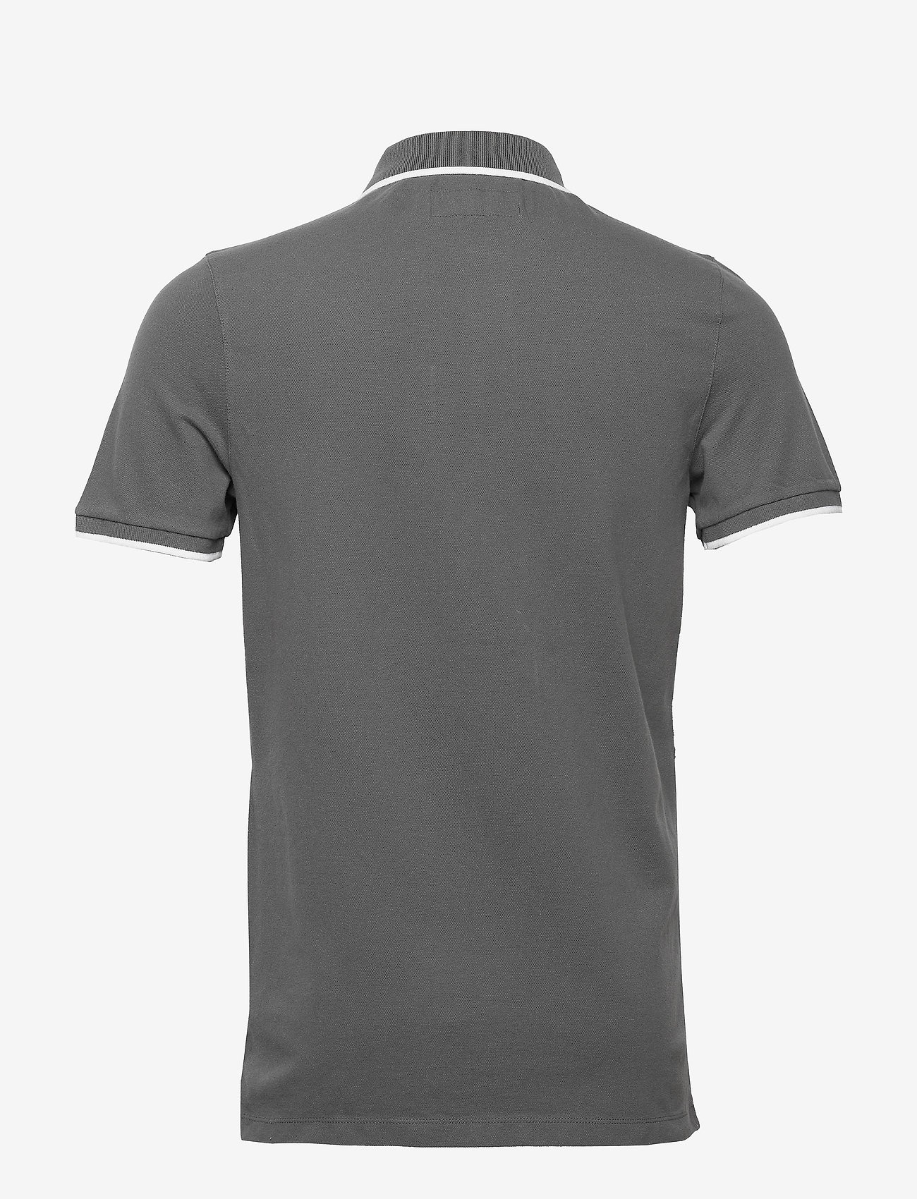 Abercrombie & Fitch - Core Polo - polos à manches courtes - dark grey flat - 1
