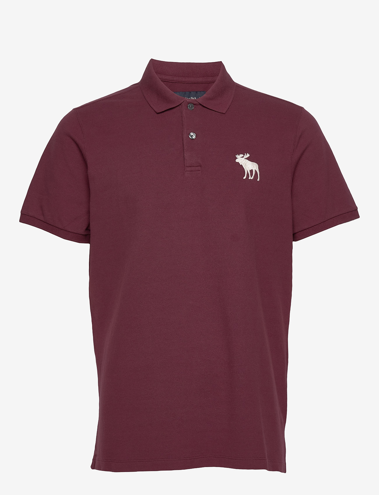Abercrombie & Fitch - Exploded Polo - polos à manches courtes - burgundy dd - 0