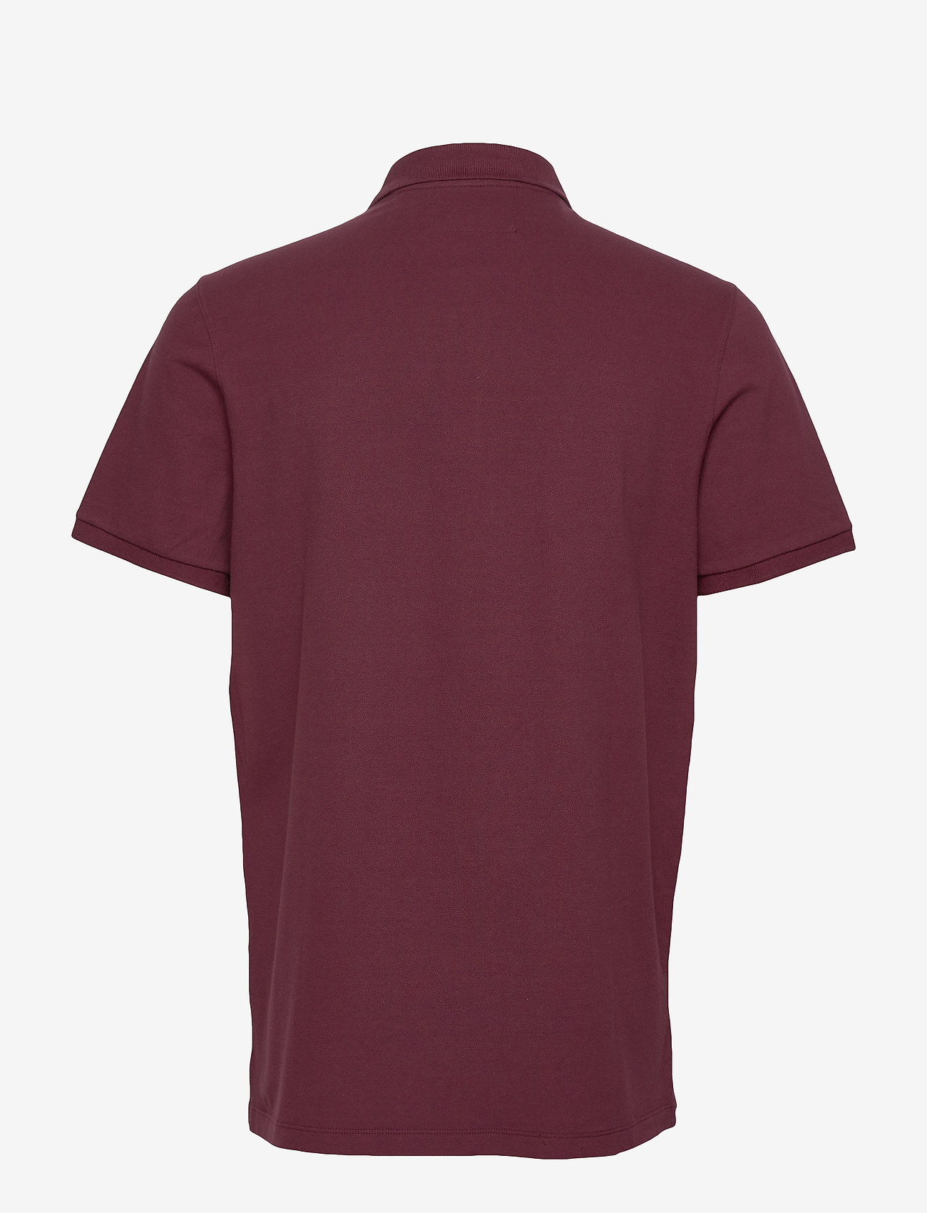 Abercrombie & Fitch - Exploded Polo - polos à manches courtes - burgundy dd - 1