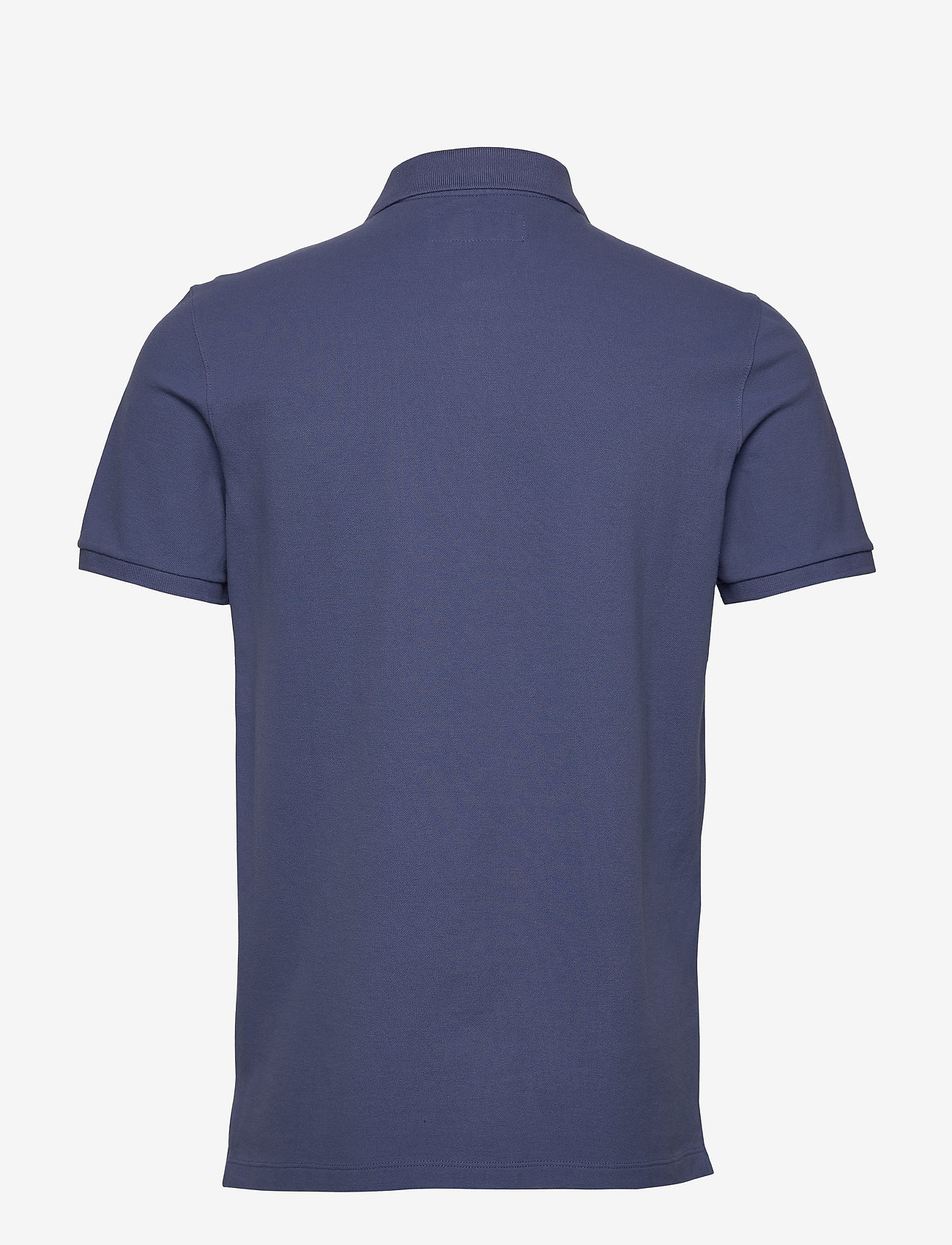 Abercrombie & Fitch - Exploded Polo - polos à manches courtes - med blue dd - 1