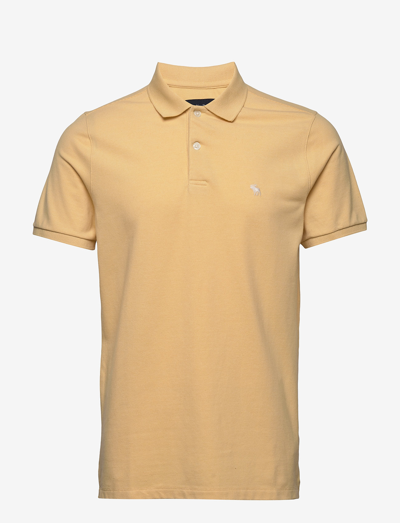 Abercrombie & Fitch - Core Polo - lyhythihaiset - yellow dd