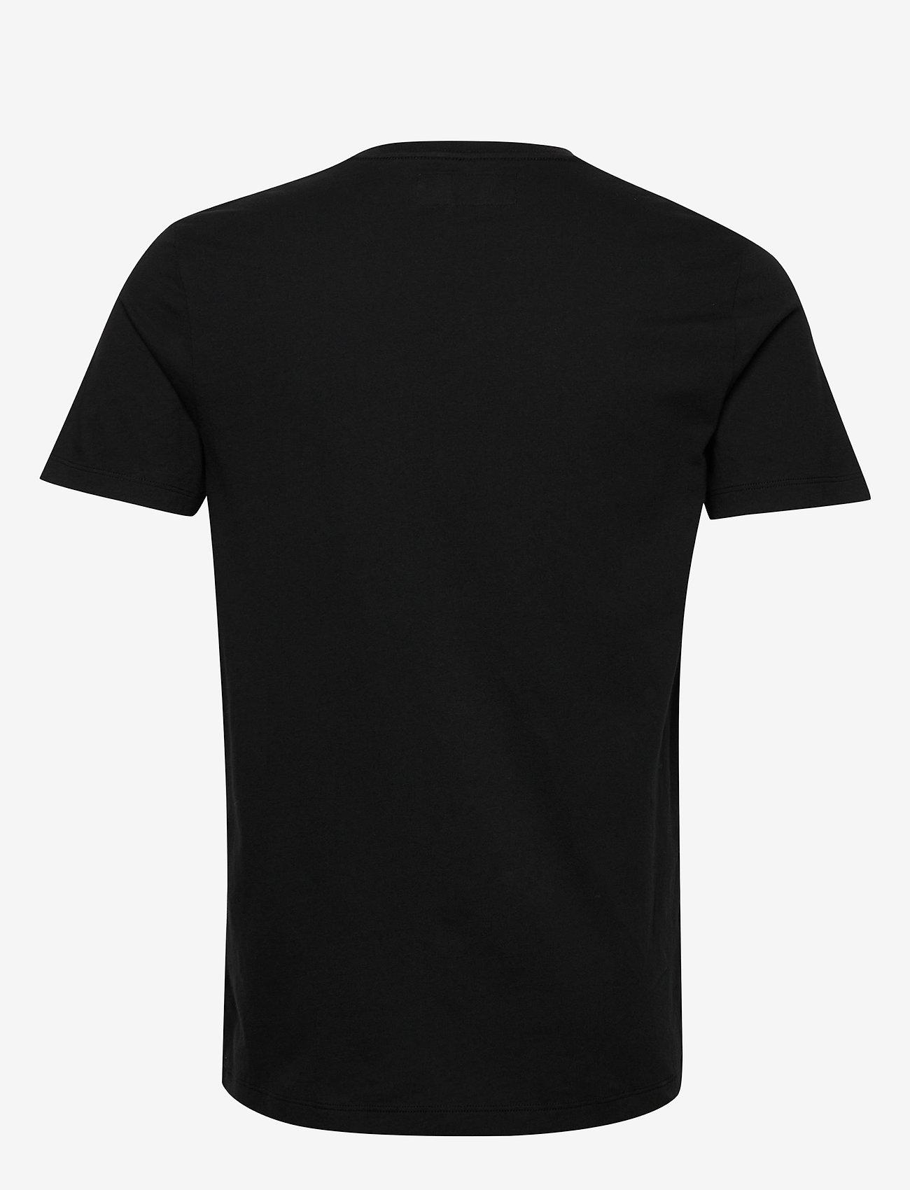 Abercrombie & Fitch Icon Vee - T-skjorter BLACK DD - Menn Klær