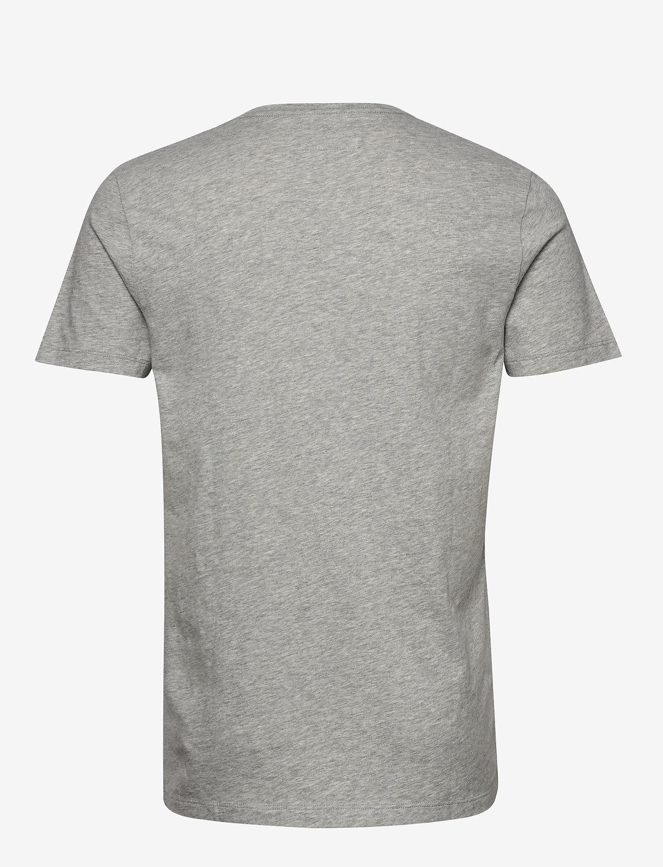 Abercrombie & Fitch Icon Vee - T-skjorter MED GREY FLAT - Menn Klær