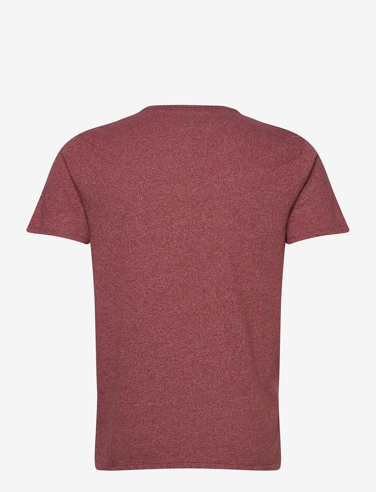 Abercrombie & Fitch Icon Vee - T-skjorter BURGUNDY DD - Menn Klær