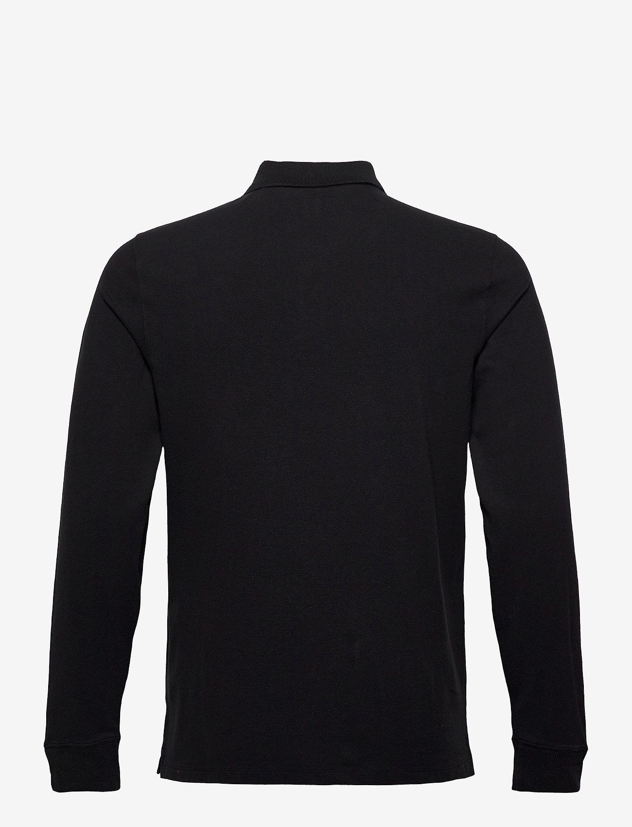 Abercrombie & Fitch ANF MENS KNITS - Poloskjorter BLACK DD - Menn Klær