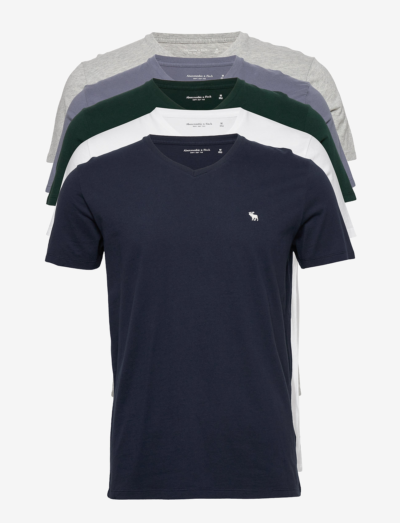 Abercrombie & Fitch - ANF MENS KNITS - multipack - navy dd - 0