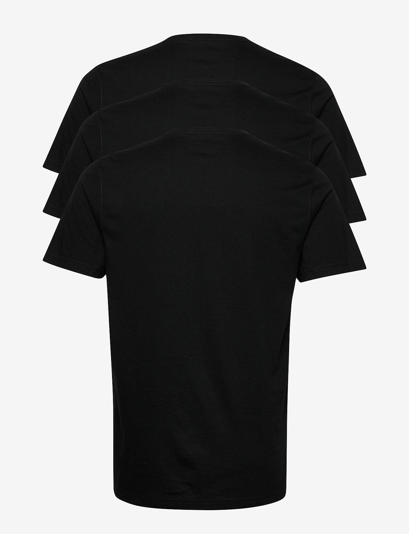 Abercrombie & Fitch - Vneck Multipack - basic t-shirts - black dd - 1