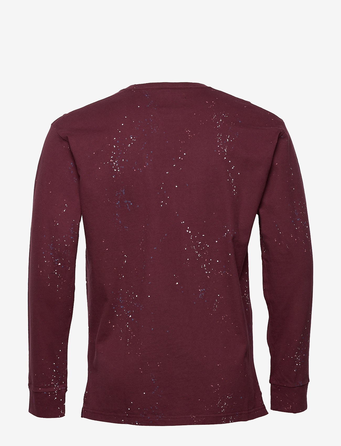 Abercrombie & Fitch Heavyweight Crew - T-shirts Burgundy Pattern
