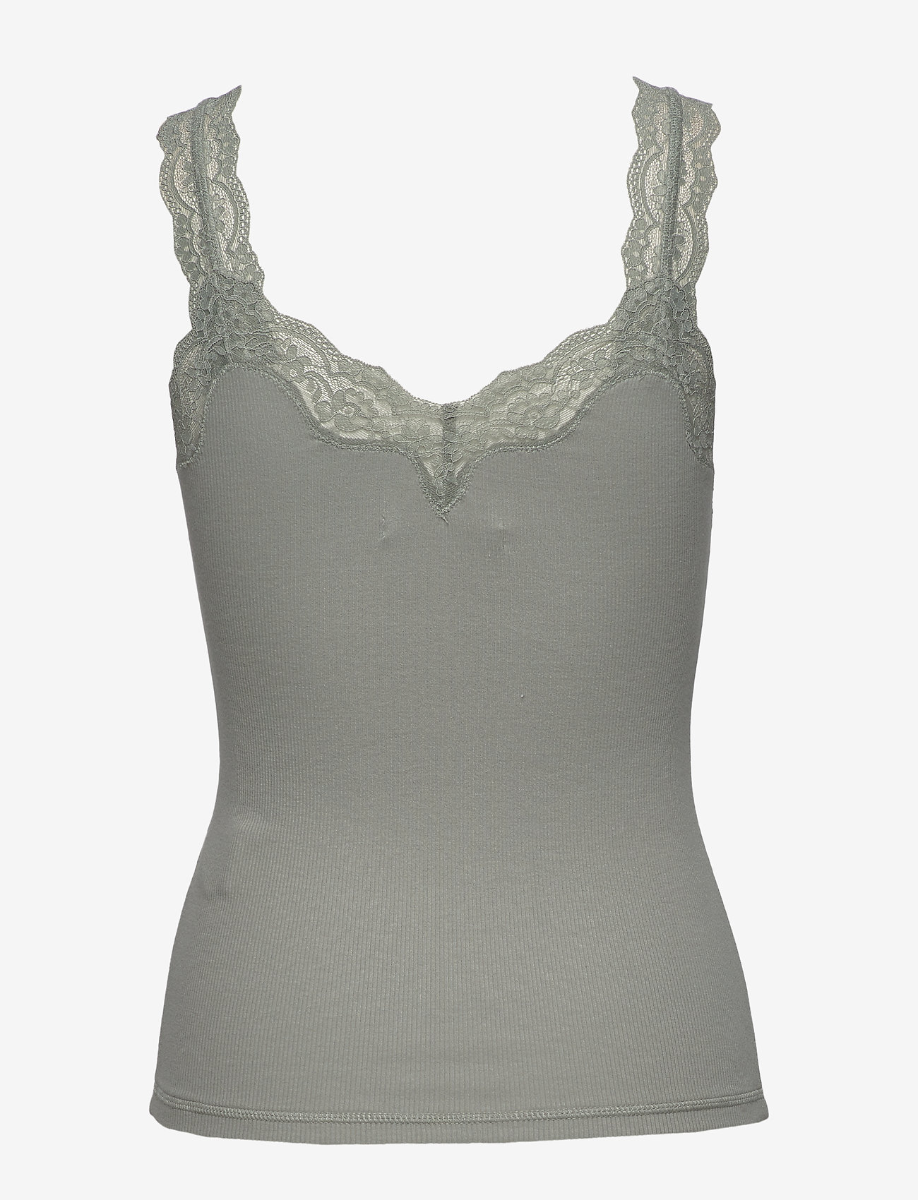 Abercrombie & Fitch Lace Cami - T-shirts & Toppar Green Dd