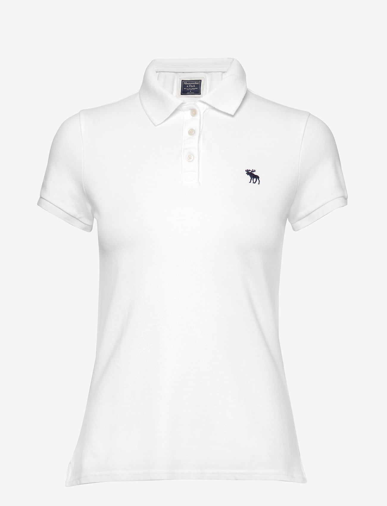 Abercrombie & Fitch - Polo - basic t-shirts - white - 0