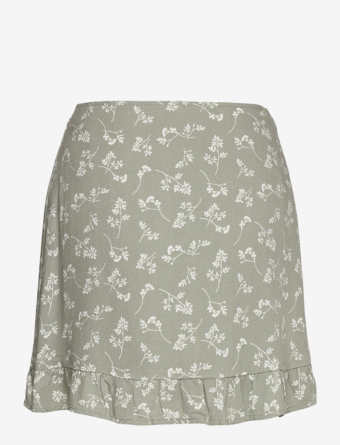 Abercrombie & Fitch - ANF WOMENS SKIRTS - korte nederdele - green floral - 1