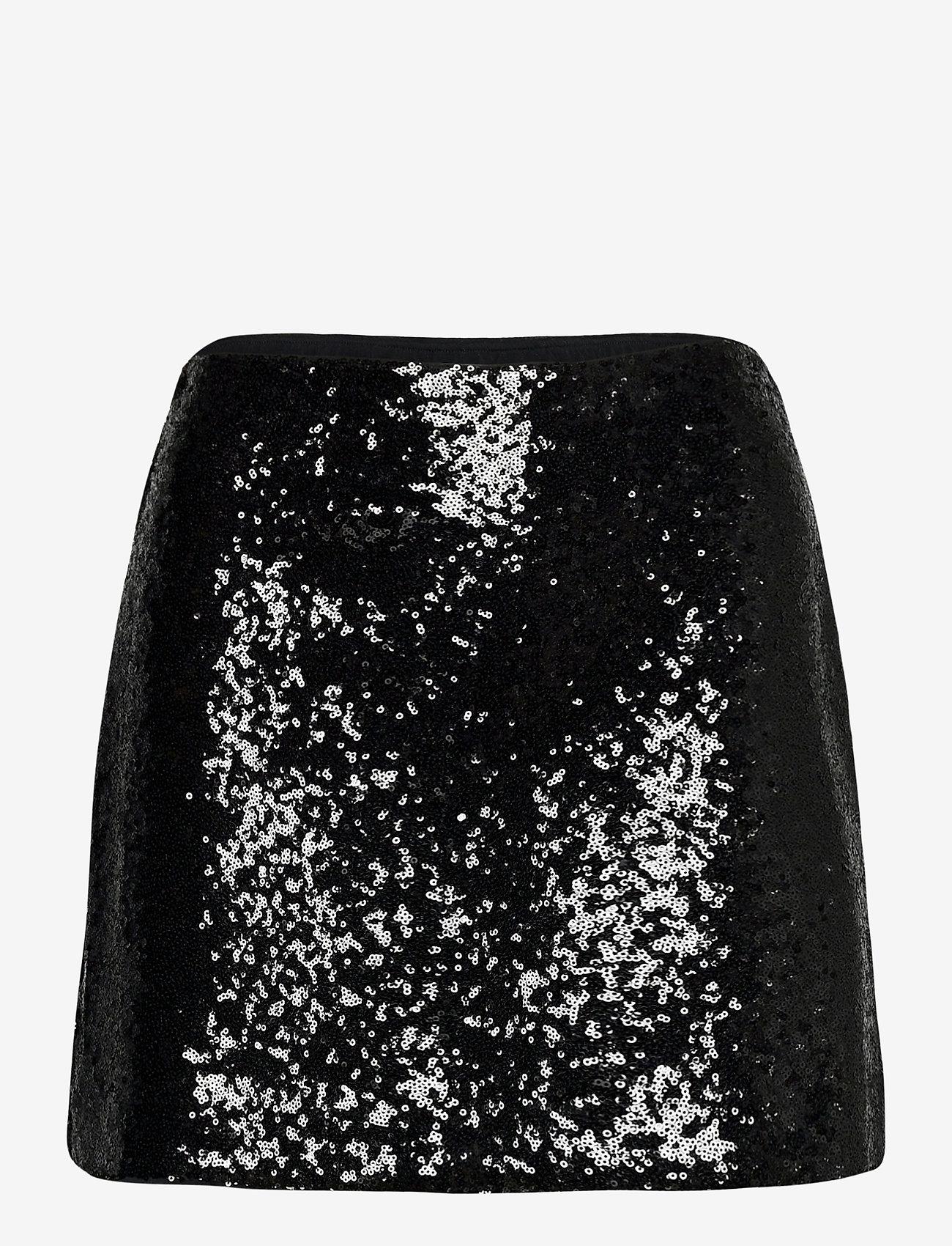 Abercrombie & Fitch - ANF WOMENS SKIRTS - korta kjolar - black dd - 0