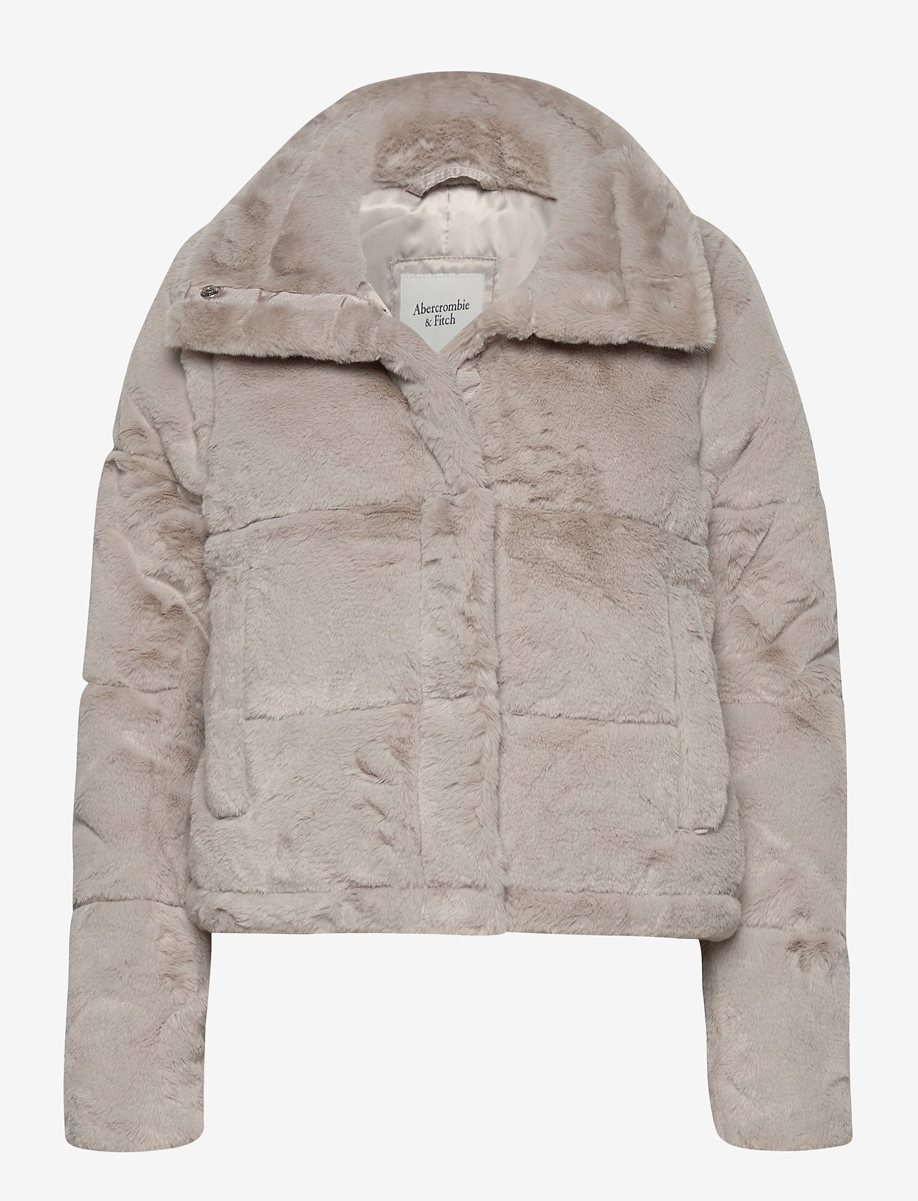 Abercrombie & Fitch - ANF WOMENS OUTERWEAR - faux fur - light grey flat - 0