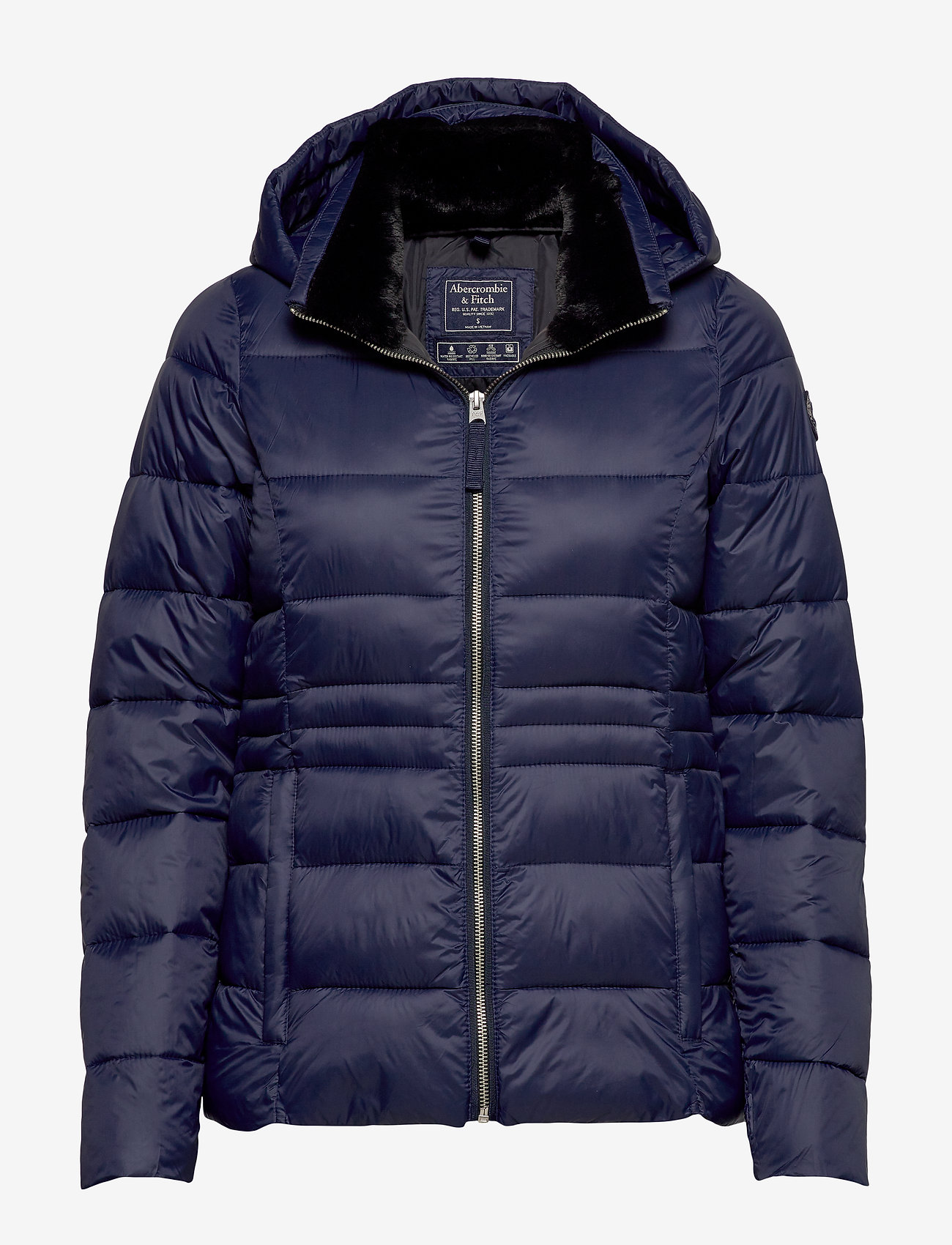 Abercrombie & Fitch - Packable Puffer Coat - forede jakker - navy dd - 0