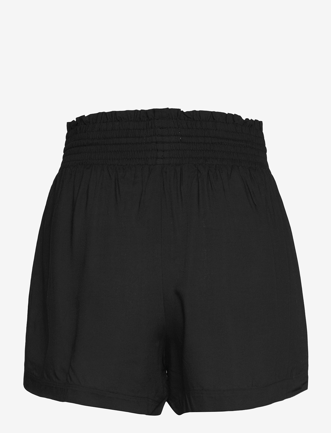 Abercrombie & Fitch - ANF WOMENS SHORTS - shorts casual - rayon pull on short black - 1