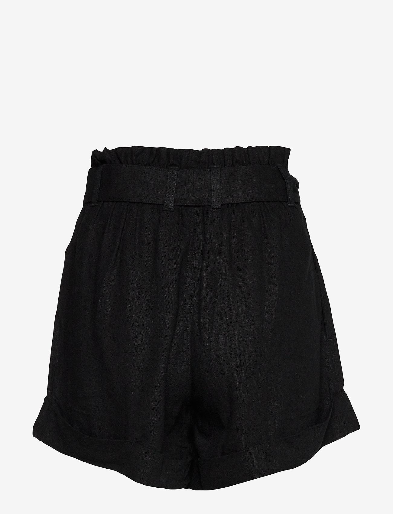 Abercrombie & Fitch - Shorts - paper bag shorts - black dd - 1
