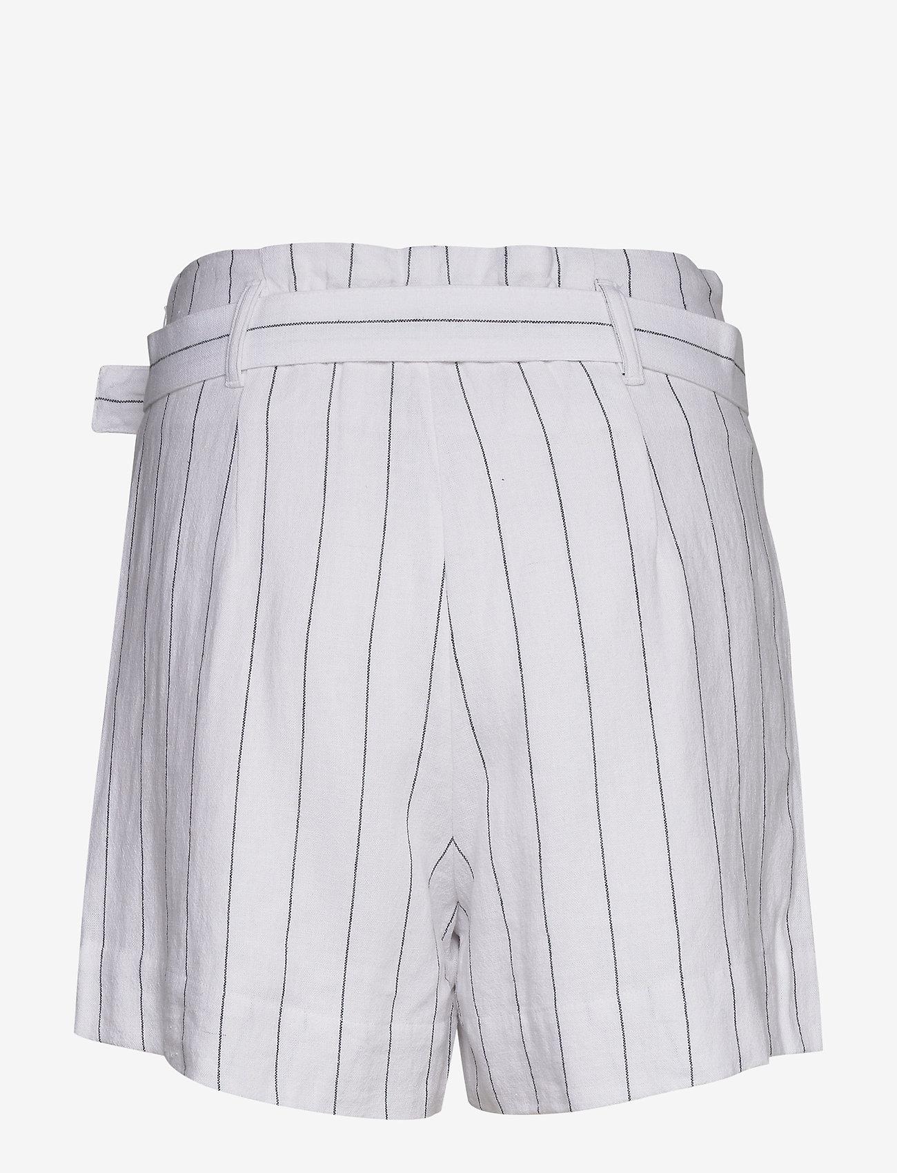 Abercrombie & Fitch Linen City Short Stripe Set - Shorts