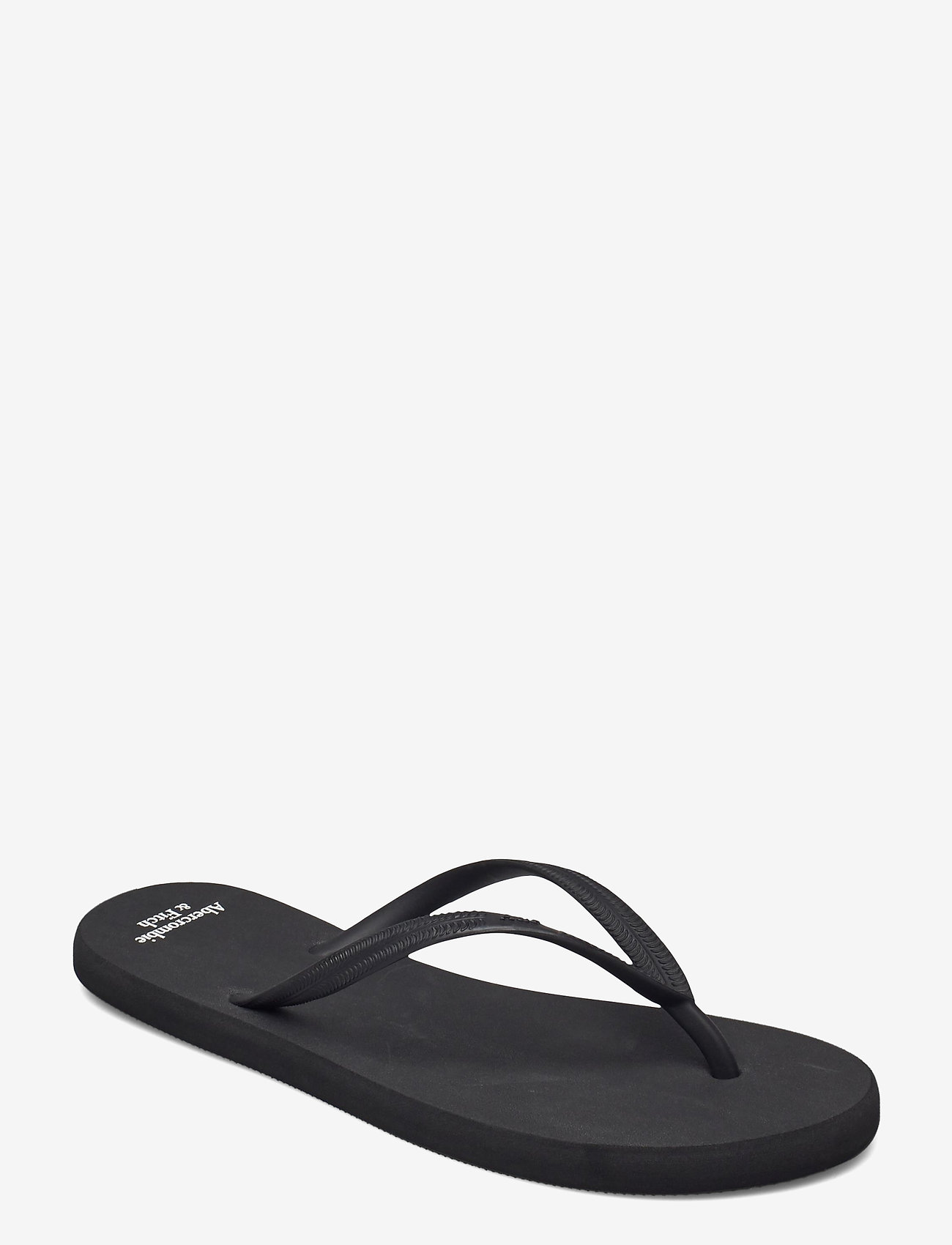 Abercrombie & Fitch - ANF WOMENS ACCESSORIES - teenslippers - black - 0