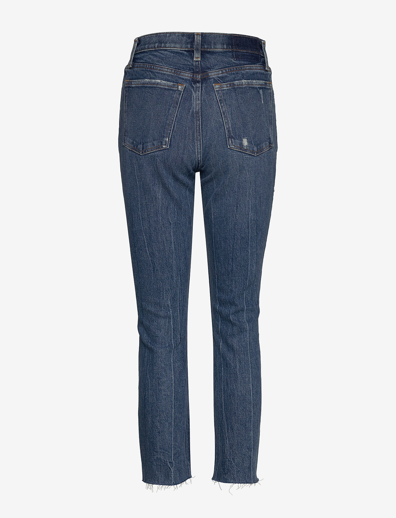 Abercrombie & Fitch - Mom Jeans - mom-jeans - dark destroy - 1