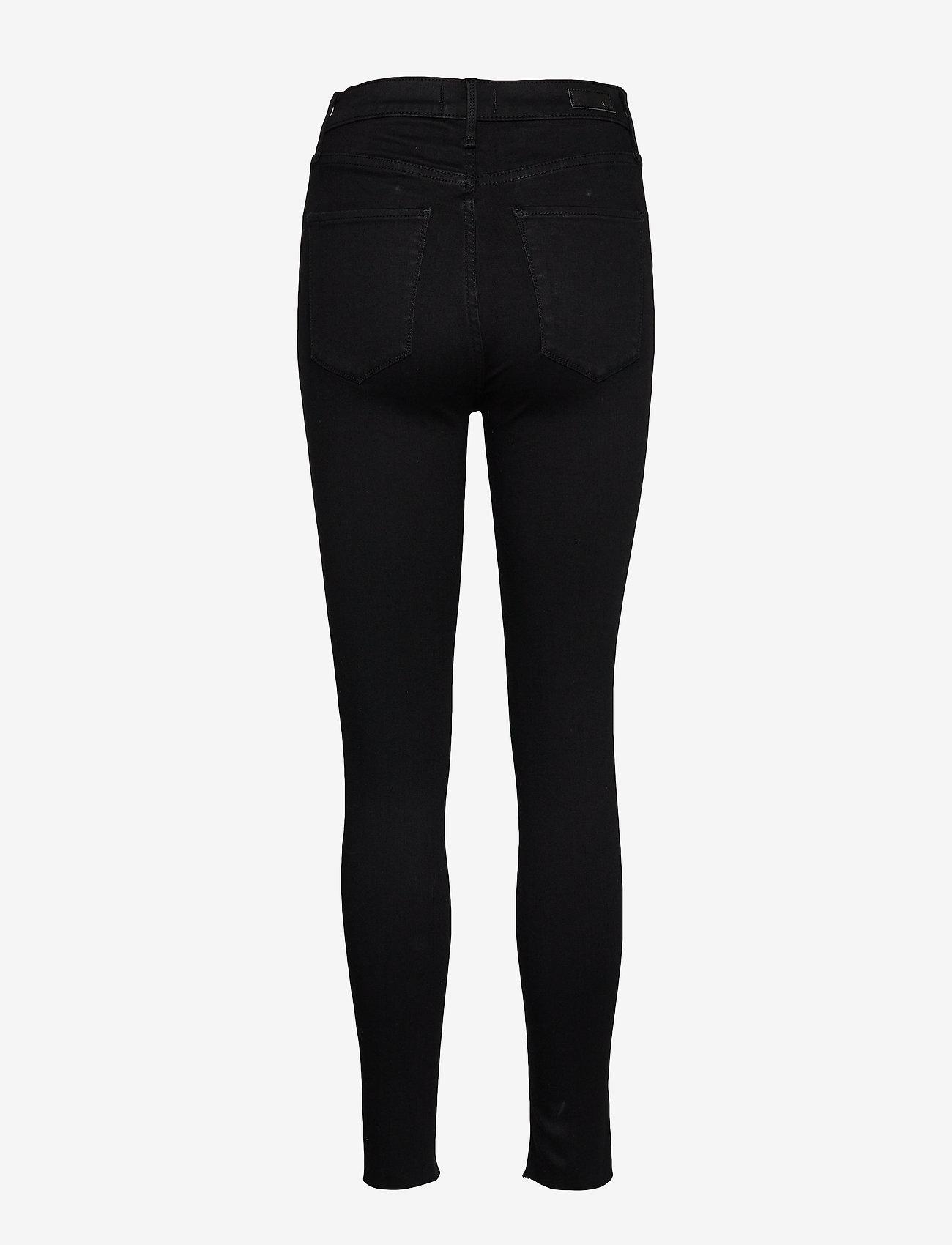 Abercrombie & Fitch - Ultra High Rise Super Skinny - skinny jeans - black od - 1