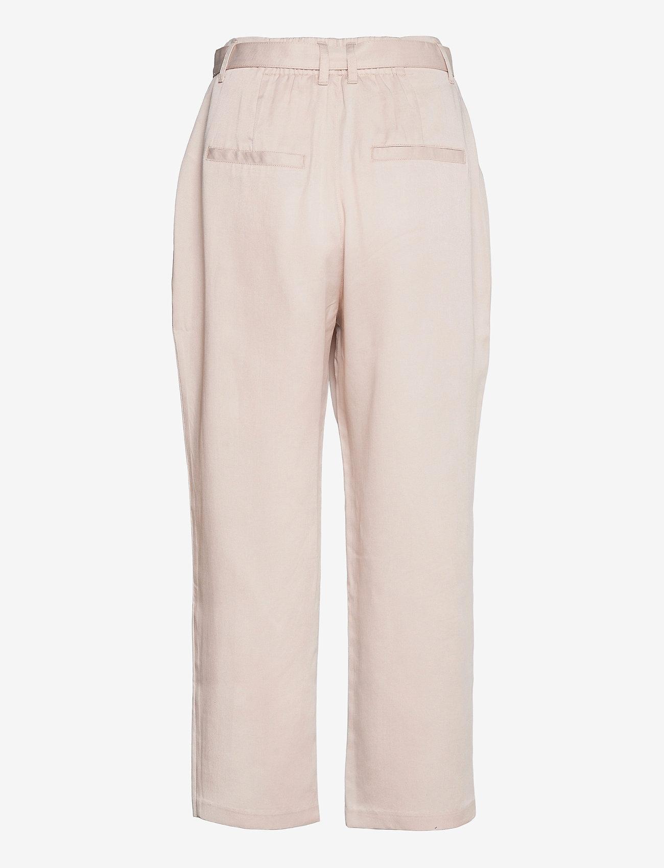 Abercrombie & Fitch - ANF WOMENS PANTS - bukser med lige ben - moonbeam - 1