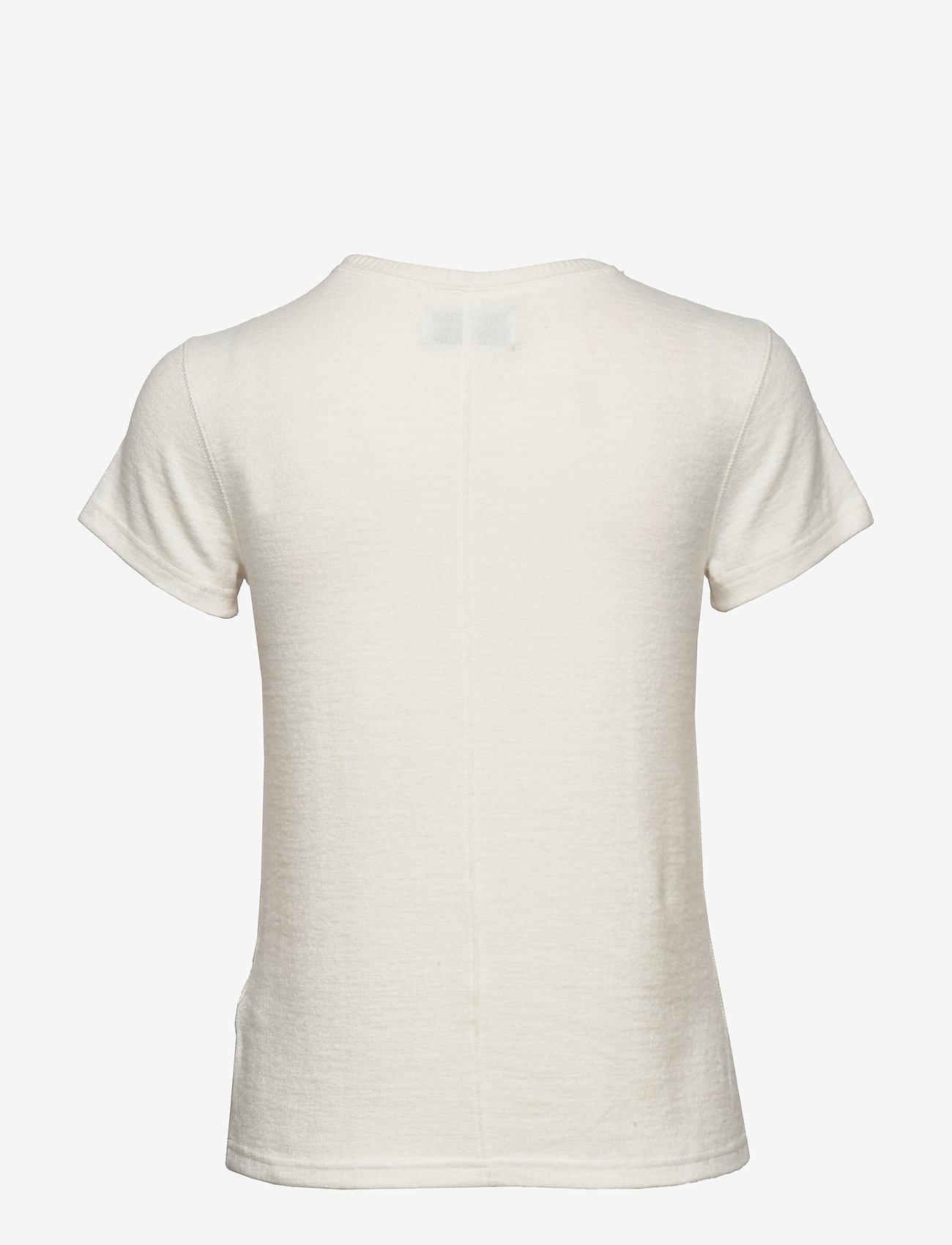 Cozy Logo Tee (White) (529 kr) - Abercrombie & Fitch