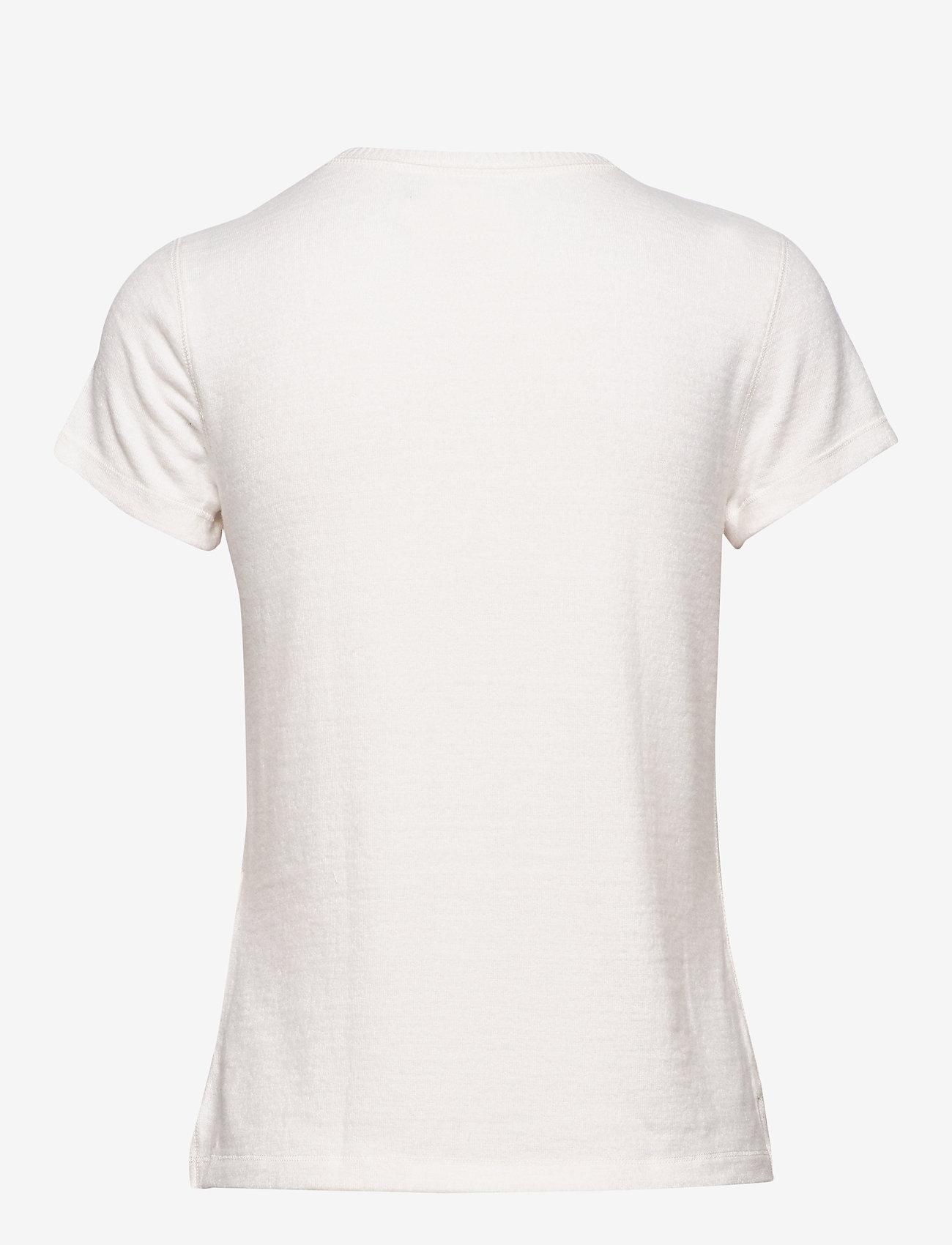 Cozy Logo Tee (White) (314.30 kr) - Abercrombie & Fitch