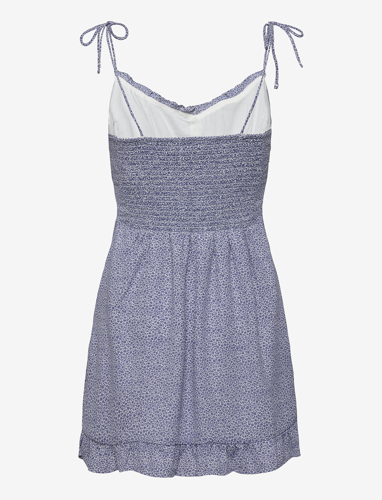 Abercrombie & Fitch - ANF WOMENS DRESSES - sommerkjoler - blue floral - 1