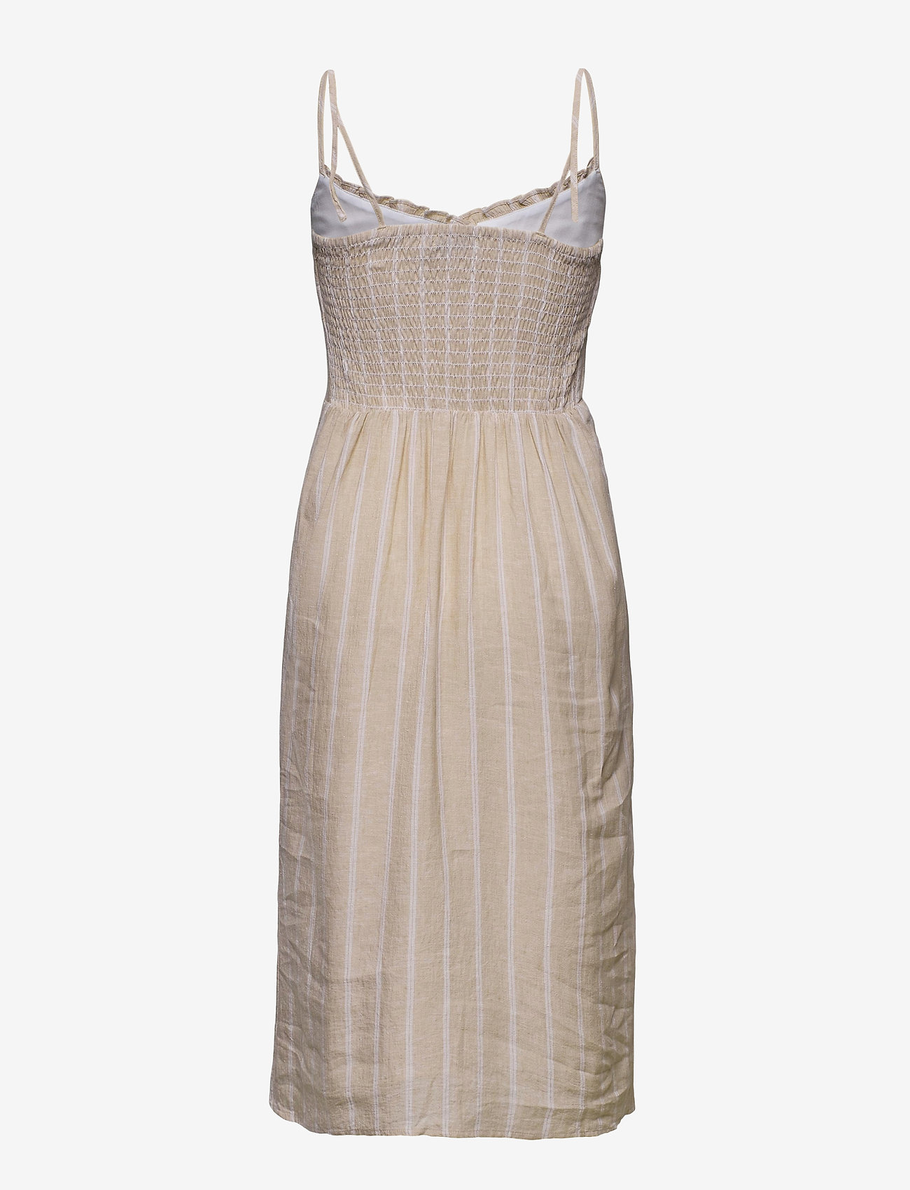 Dress (Light Brown Stripe) (949 kr) - Abercrombie & Fitch