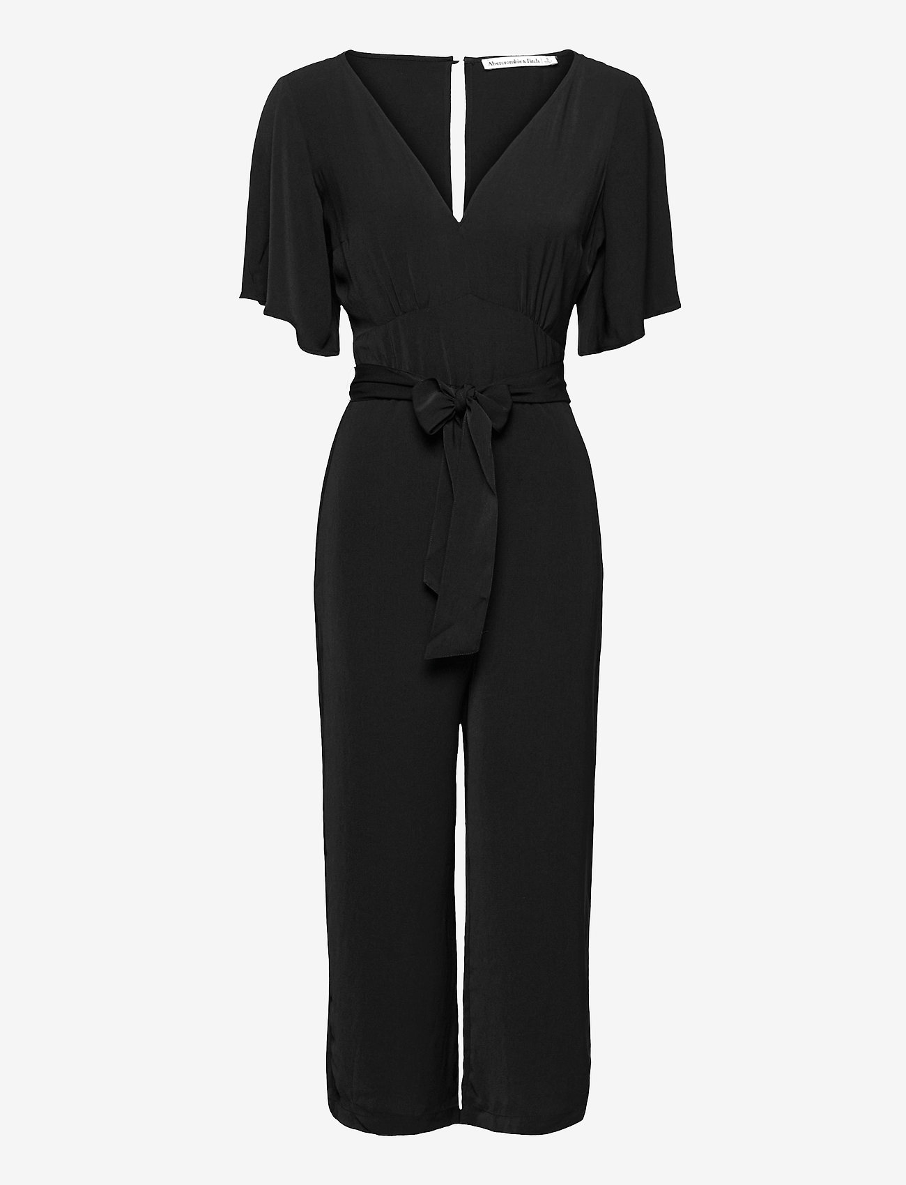 Abercrombie & Fitch - ANF WOMENS DRESSES - jumpsuits - black dd - 0