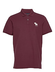 Exploded Polo - BURGUNDY DD