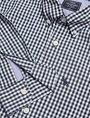 Abercrombie & Fitch - Gingham Poplin - checkered shirts - med blue pattern - 2